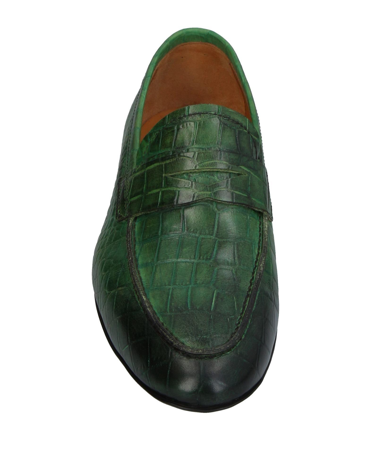 Campanile Leather Loafer in Green for Men