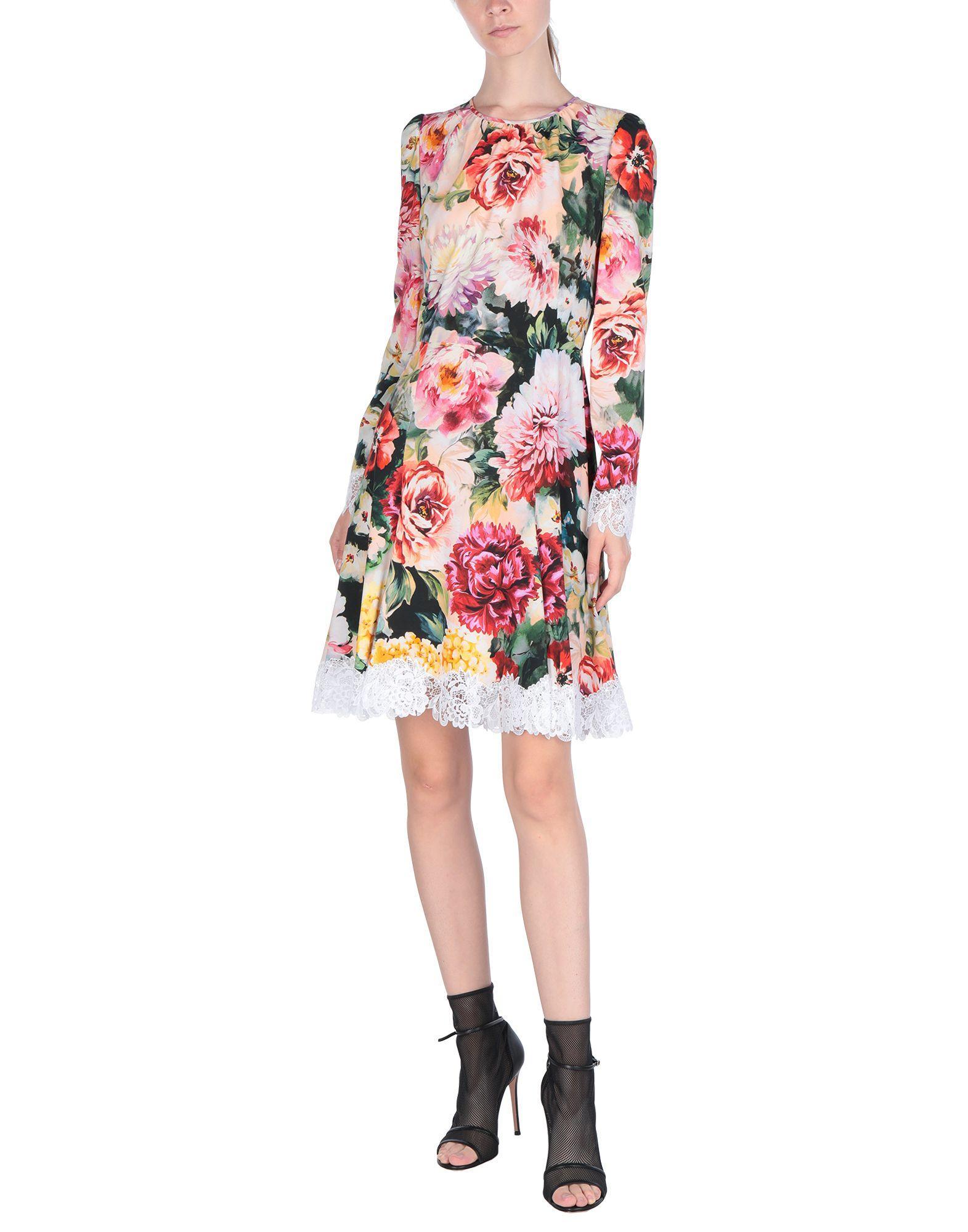 Robe courte en Synthétique Dolce & Gabbana