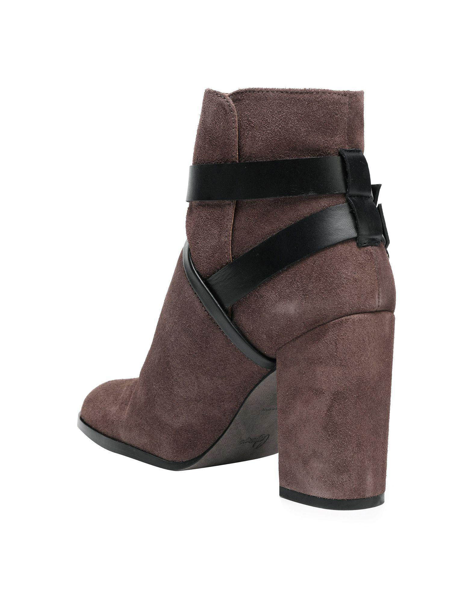 Castaner Suede Ankle Boots in Khaki (Brown)