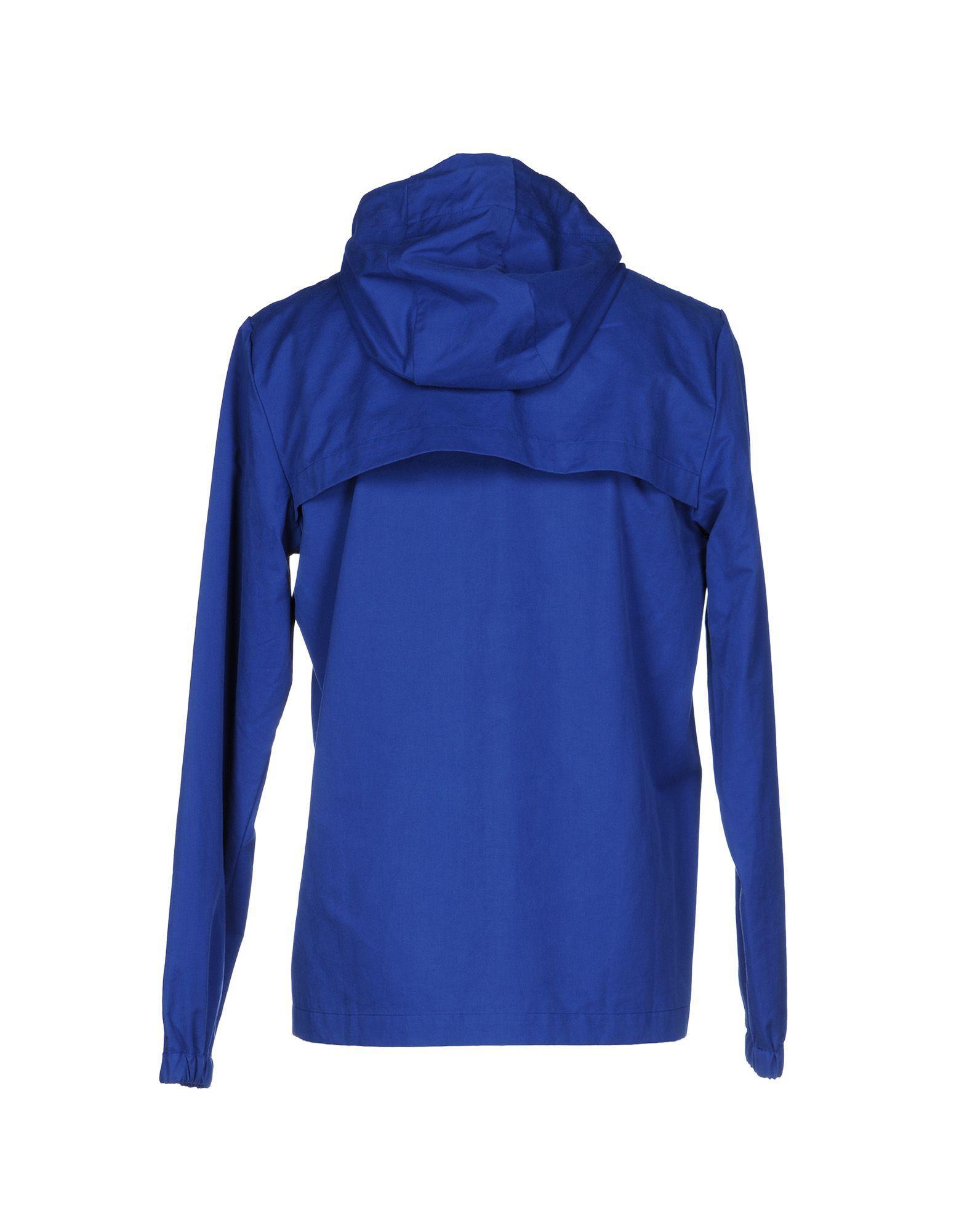 Christopher Raeburn Cotton Jacket in Blue for Men