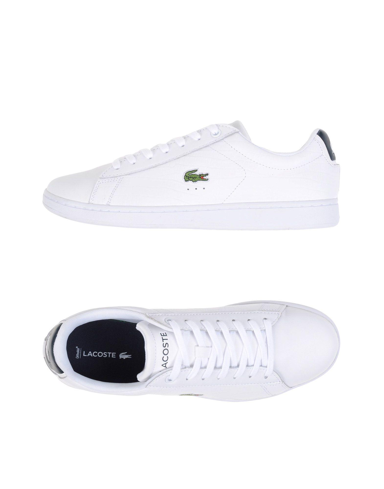 lacoste low top sneakers best c81f6 9bfa8