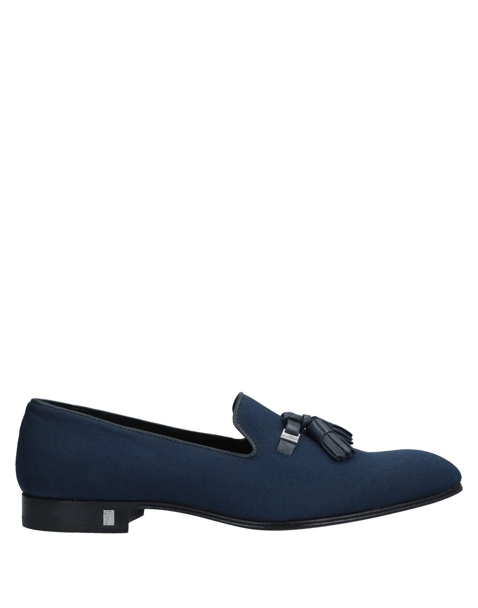 b1668bfc00 Versace Loafer in Blue for Men - Lyst