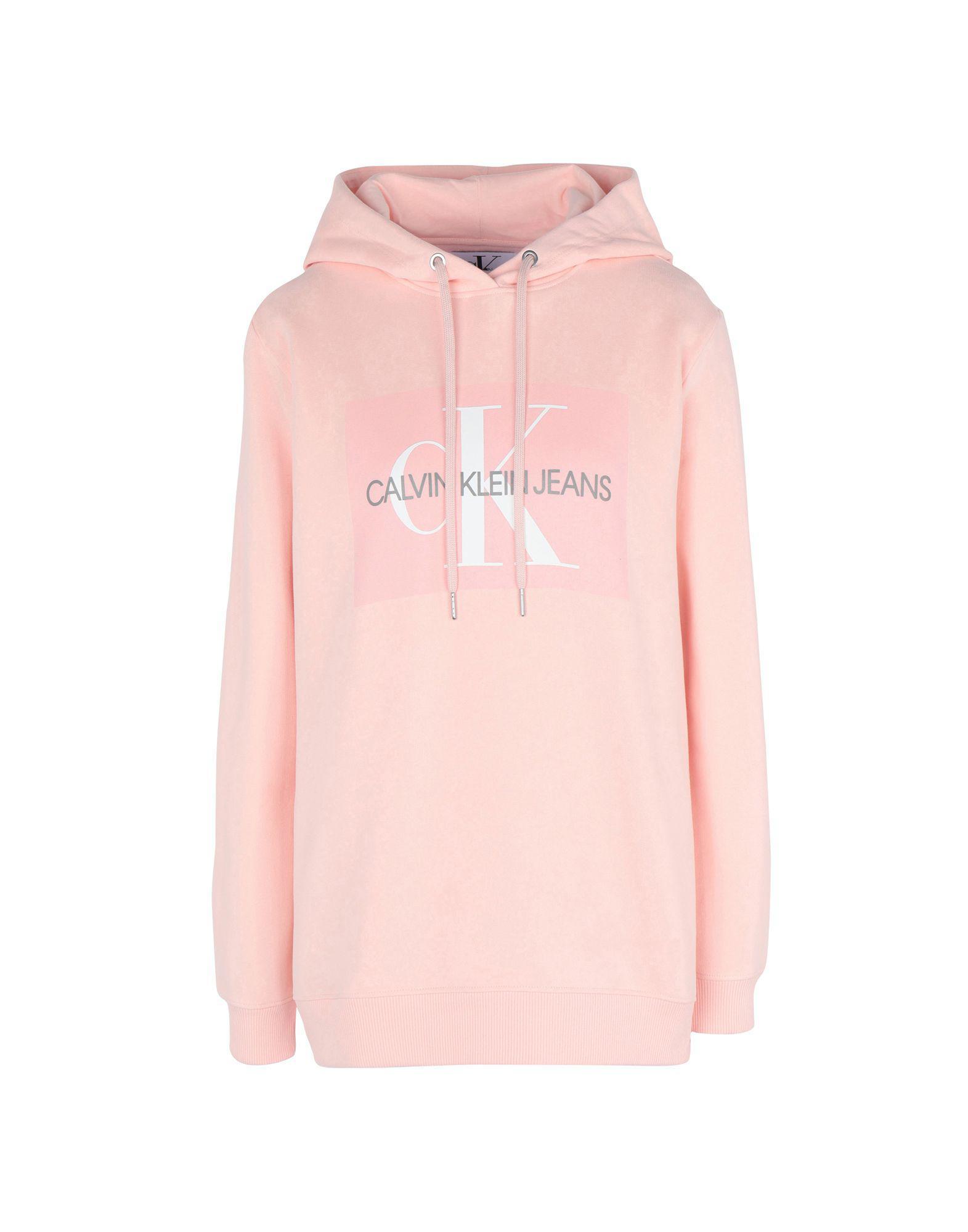 139c961c1d97 Sudadera Calvin Klein de color Pink. Ver en pantalla completa