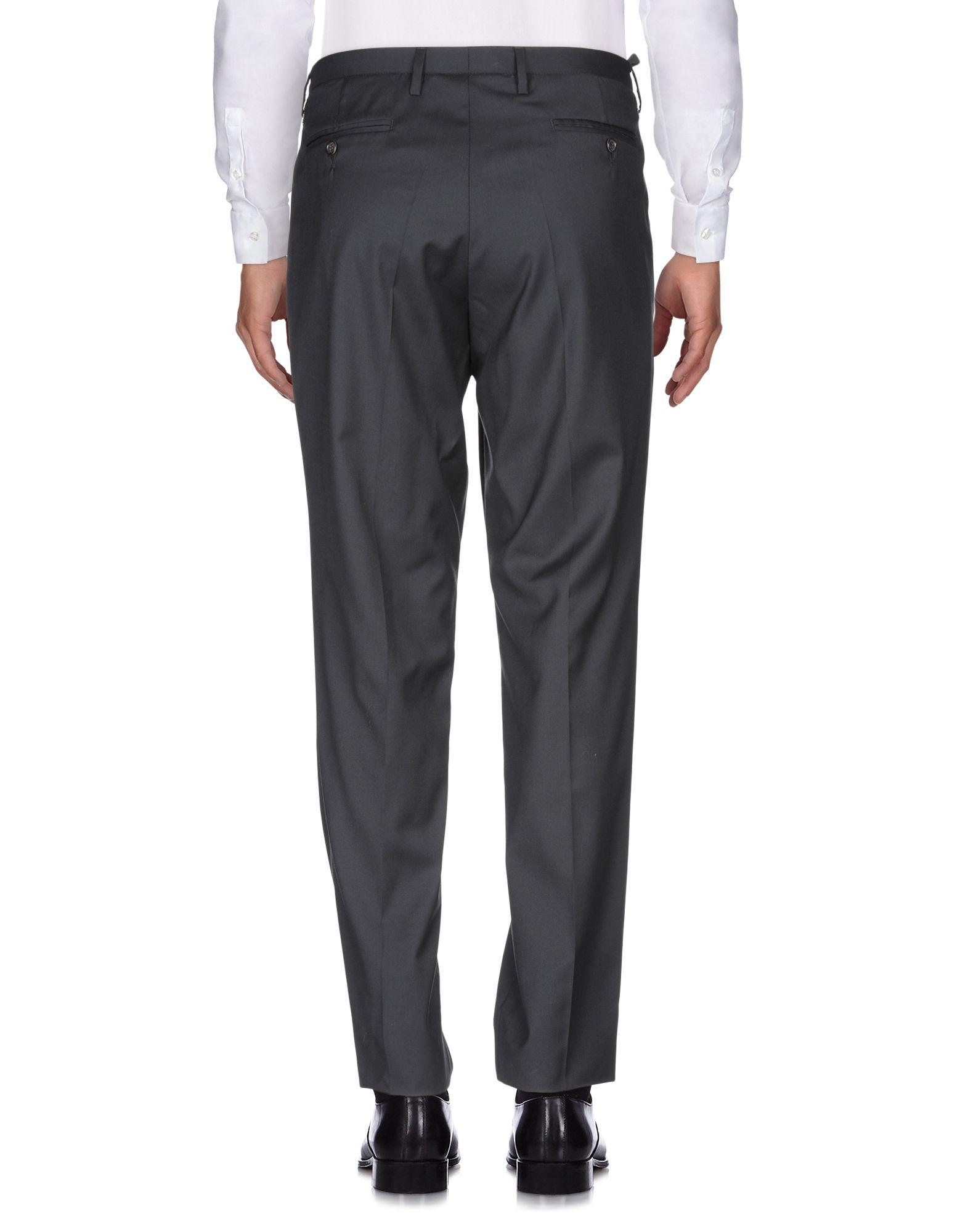 CoSTUME NATIONAL Wool Casual Trouser in Black for Men