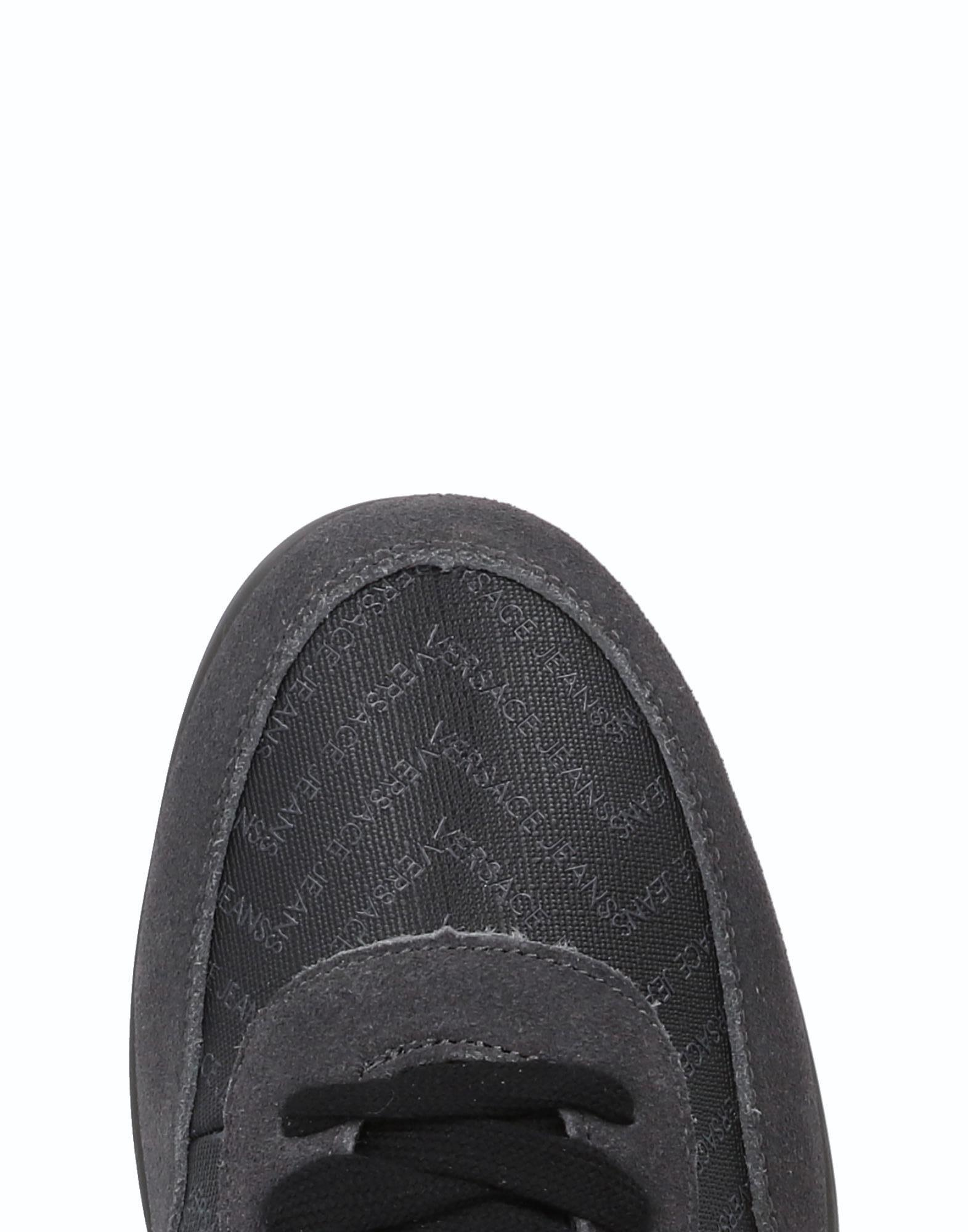 Versace Jeans Couture Low-tops & Sneakers in Lead (Grey) for Men