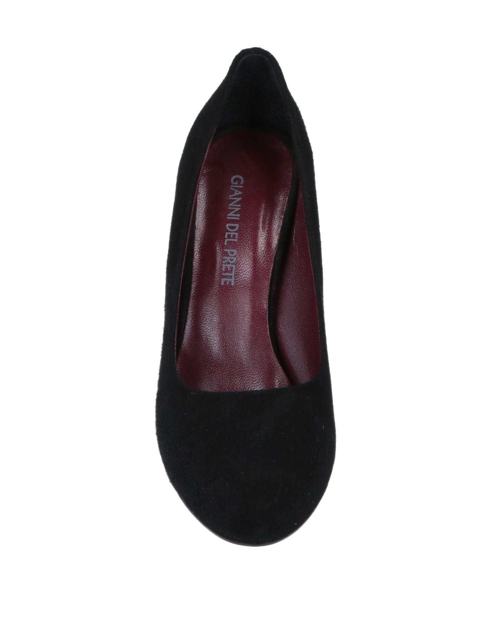 Zapatos de salón GIANNI DEL PRETE de Cuero de color Negro