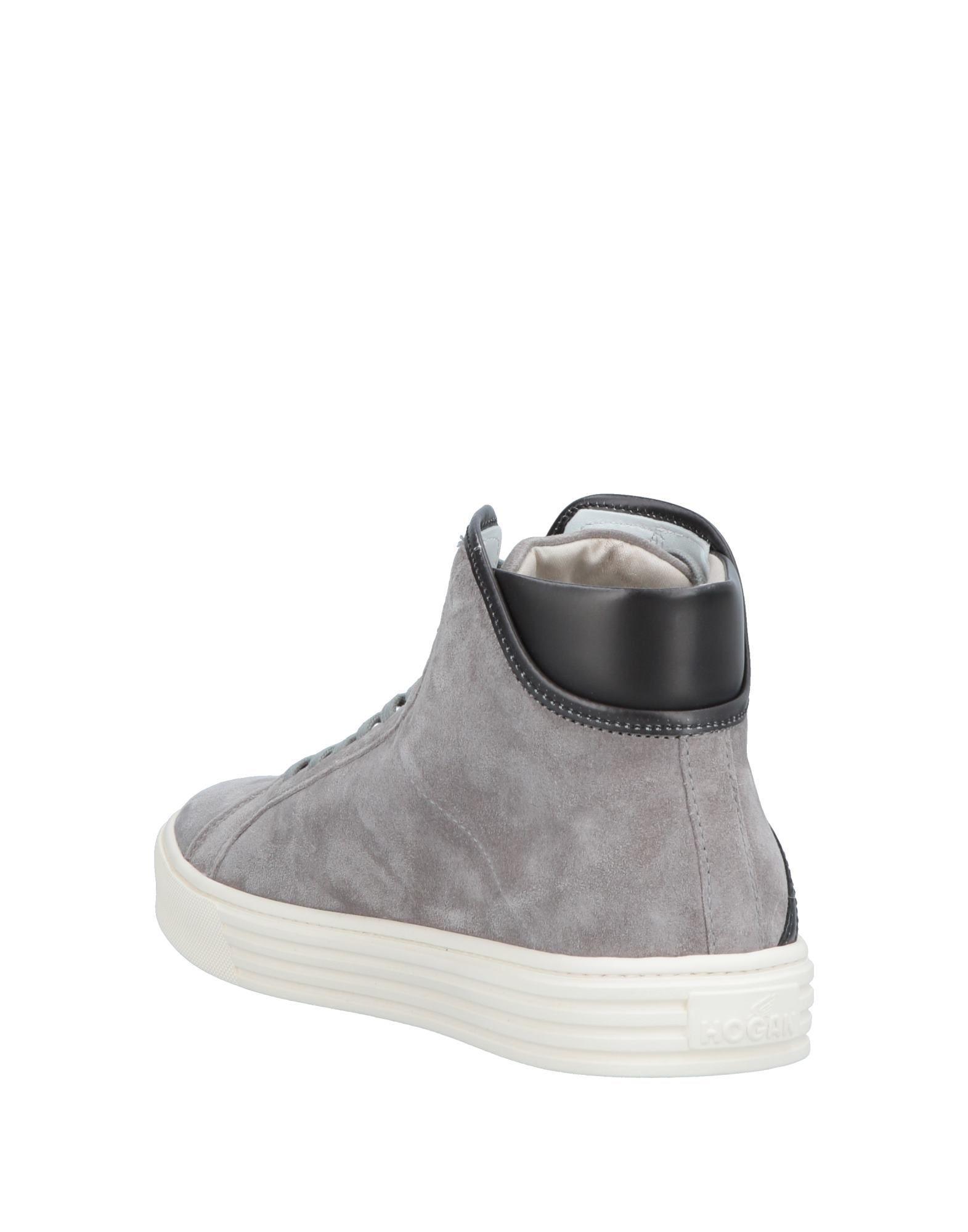 82bb2c8568b Lyst - Hogan Rebel High-tops   Sneakers in Gray for Men