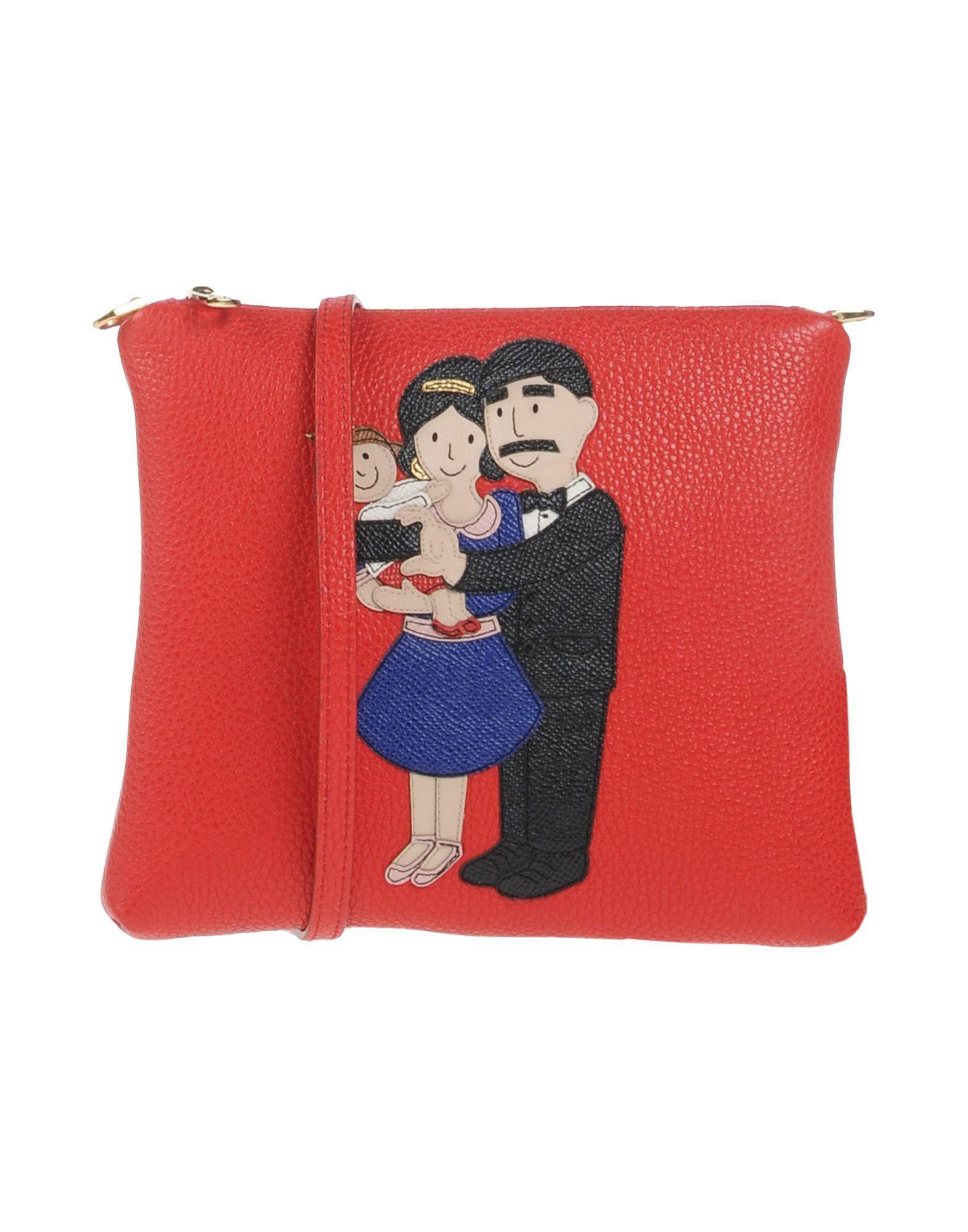 102af12231bd Lyst - Dolce   Gabbana Cross-body Bag in Red