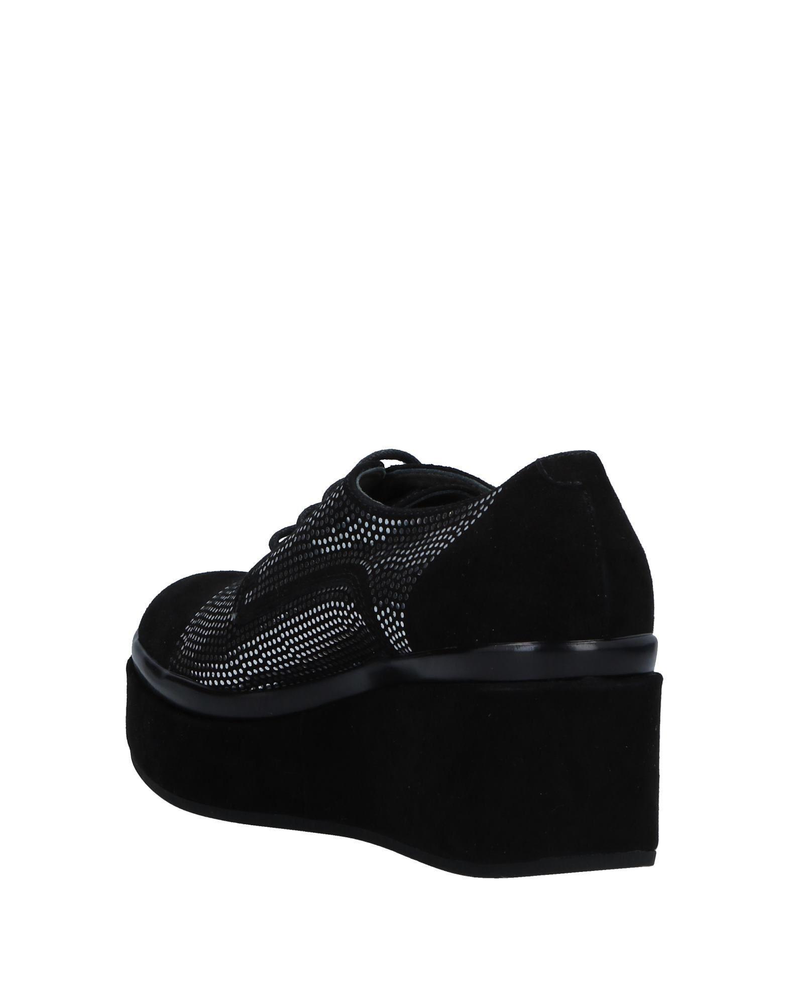 Zapatos de cordones Janet & Janet de Ante de color Negro