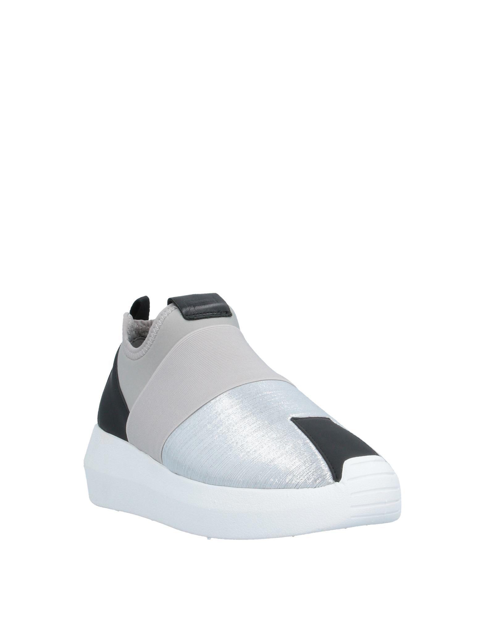 Sneakers & Deportivas Fessura de color Metálico