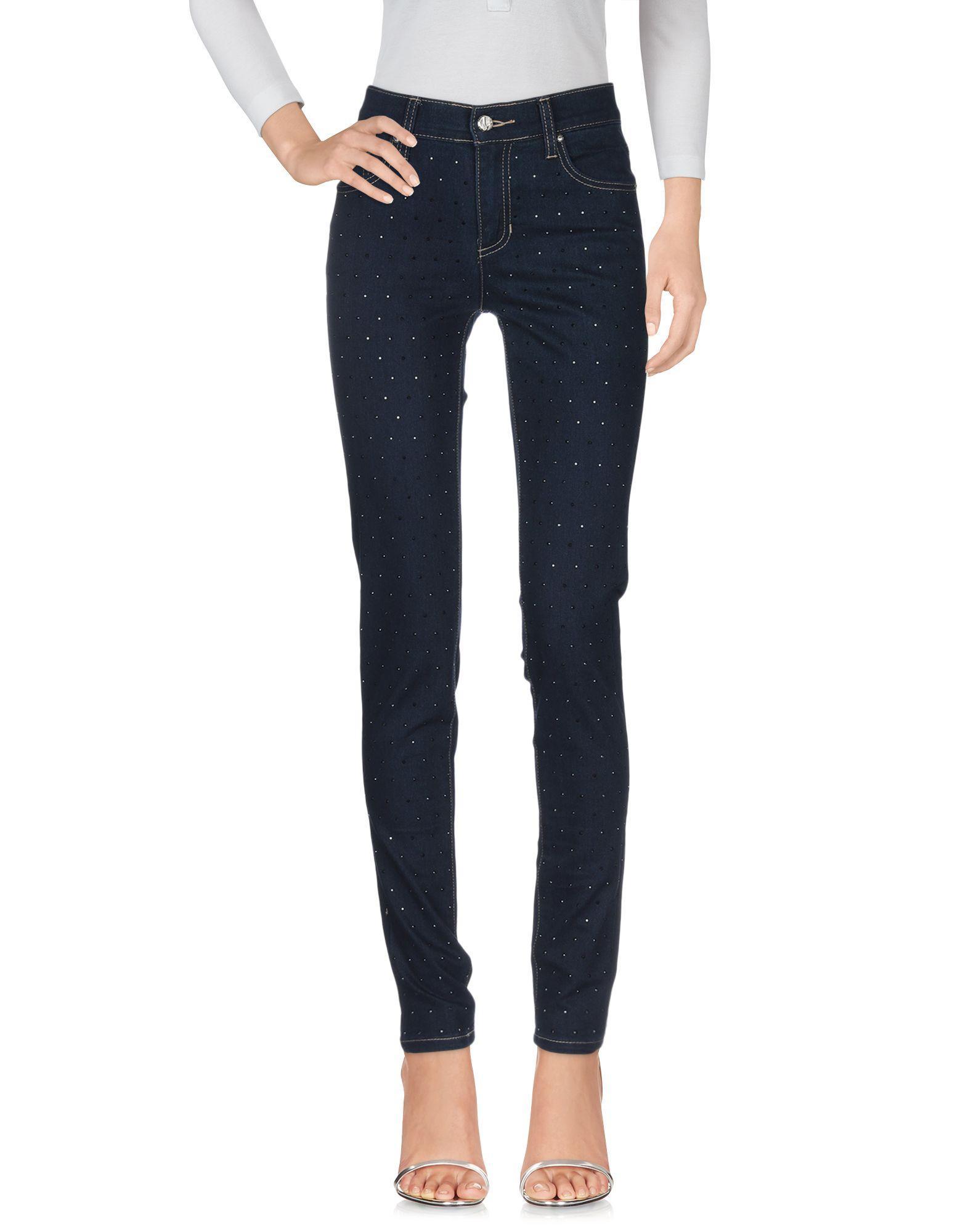 Pantalones vaqueros Versace Jeans Couture de Tejido sintético de color Azul