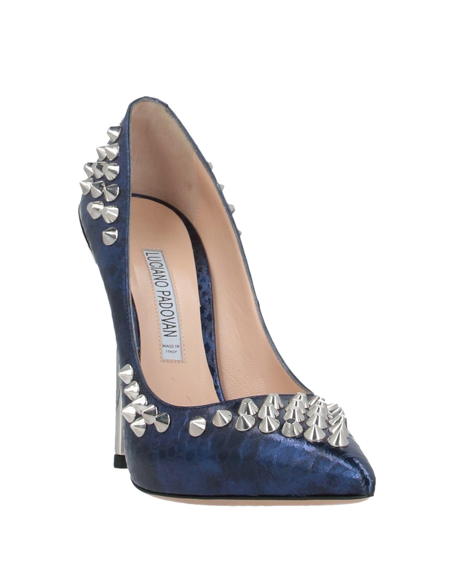 Zapatos de salón Luciano Padovan de Cuero de color Azul