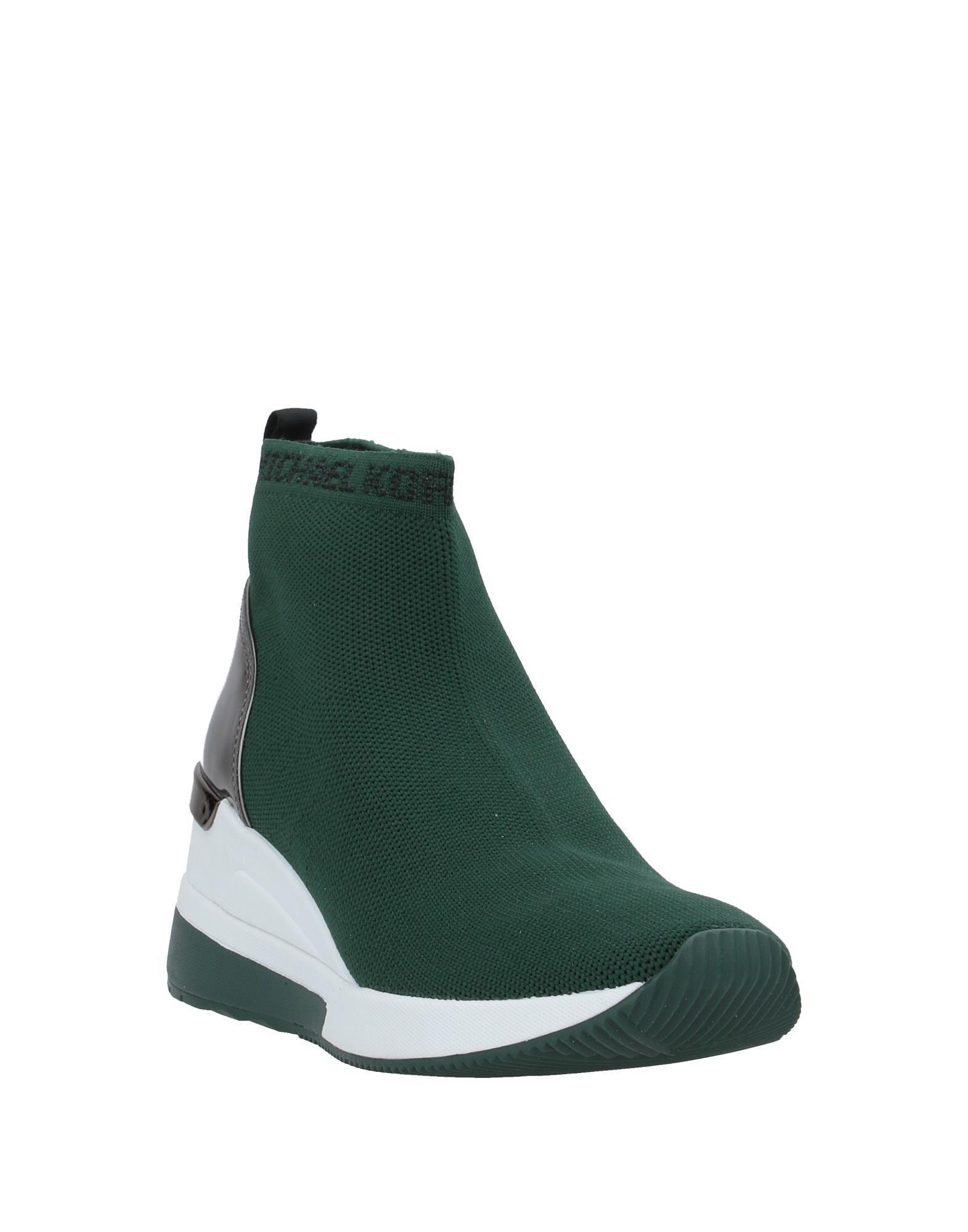 Sneakers abotinadas MICHAEL Michael Kors de Caucho de color Verde