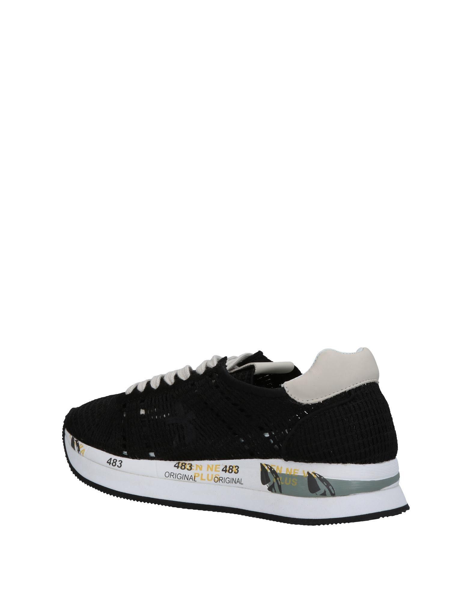 Sneakers & Deportivas Premiata de Cuero de color Negro