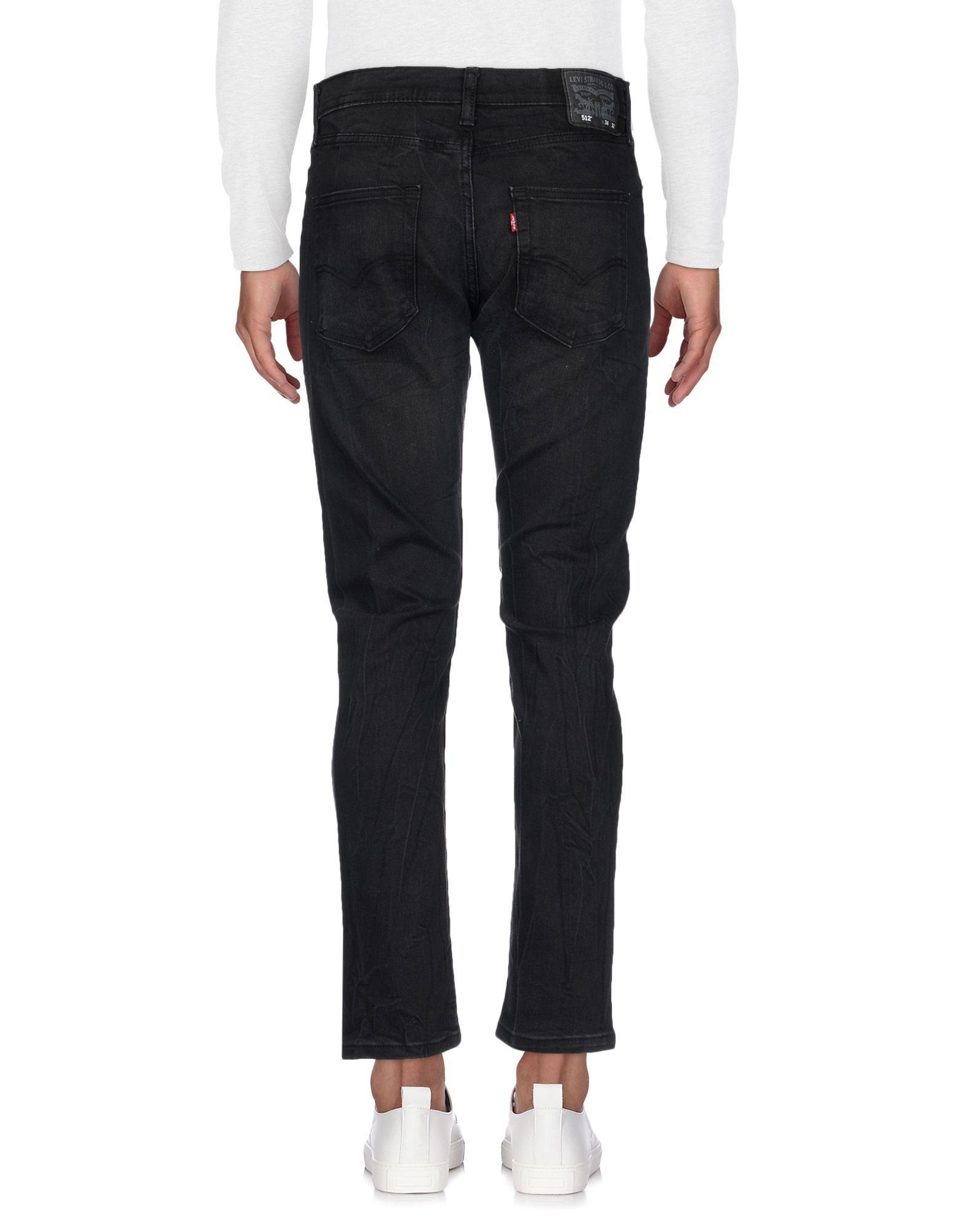Levi's Denim Pants in Black for Men