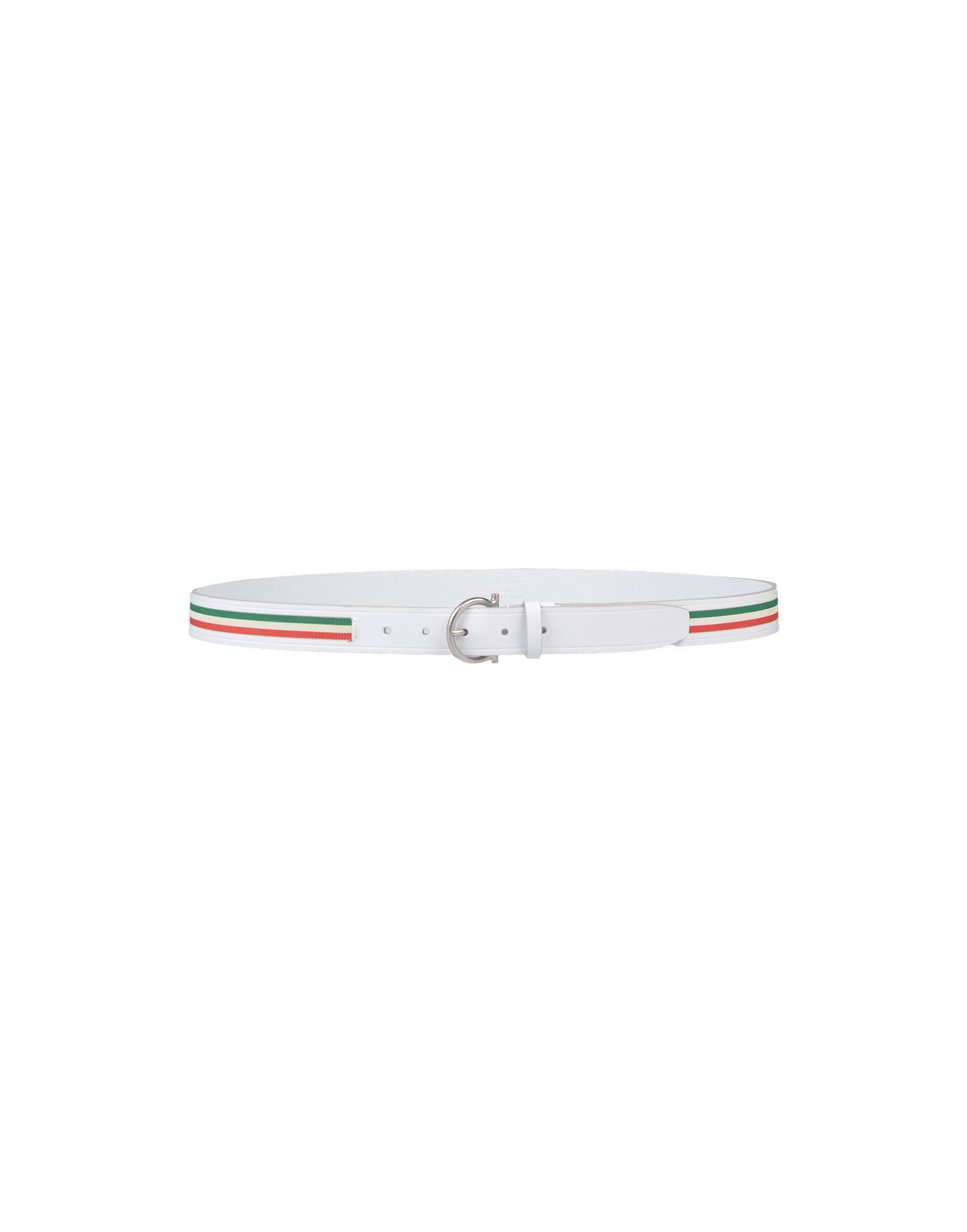 Lyst - Cinturón Ferragamo de hombre de color Blanco 2bea19e0e811