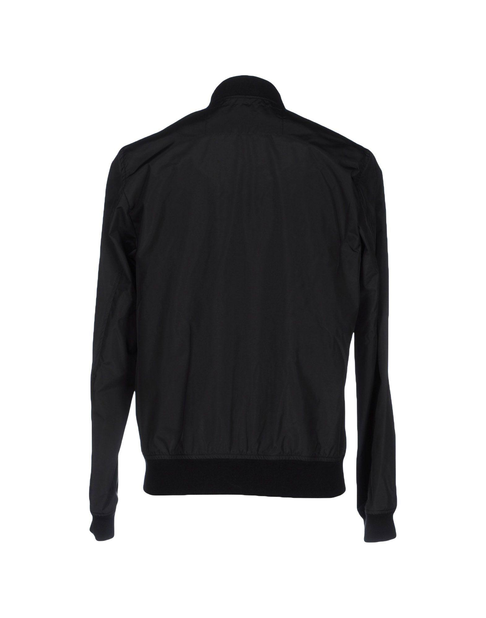 Love Moschino Cotton Jacket in Black for Men