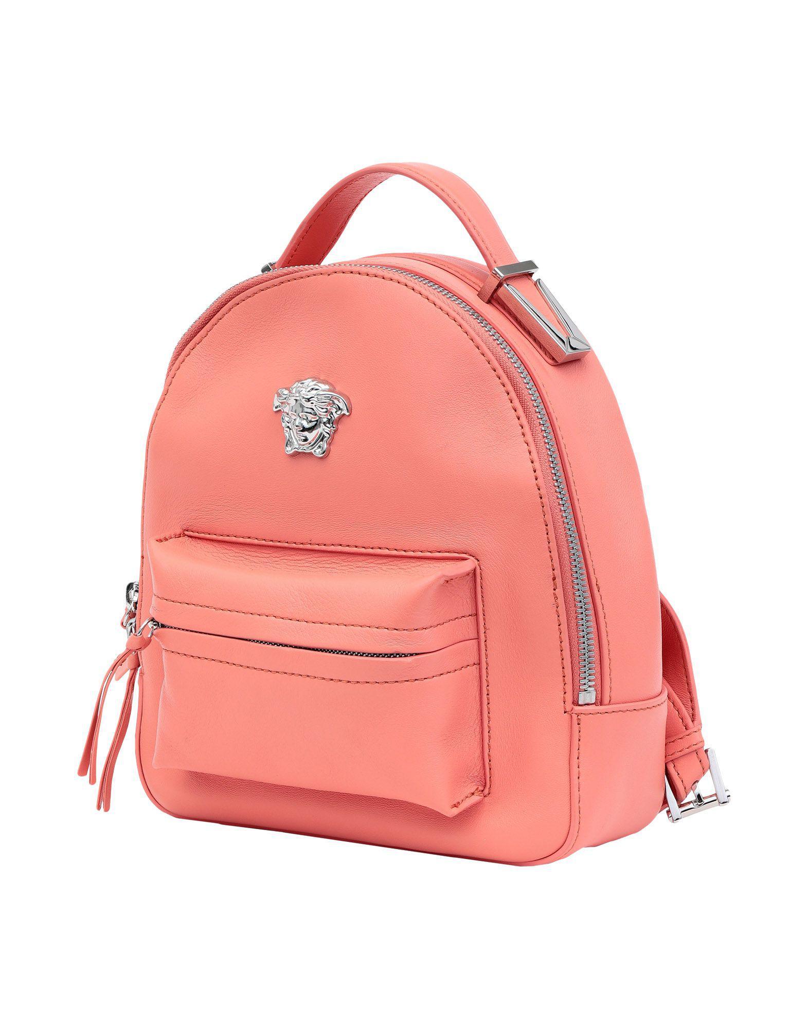 7aa7ec1fdf Lyst - Versace Backpacks   Bum Bags in Pink