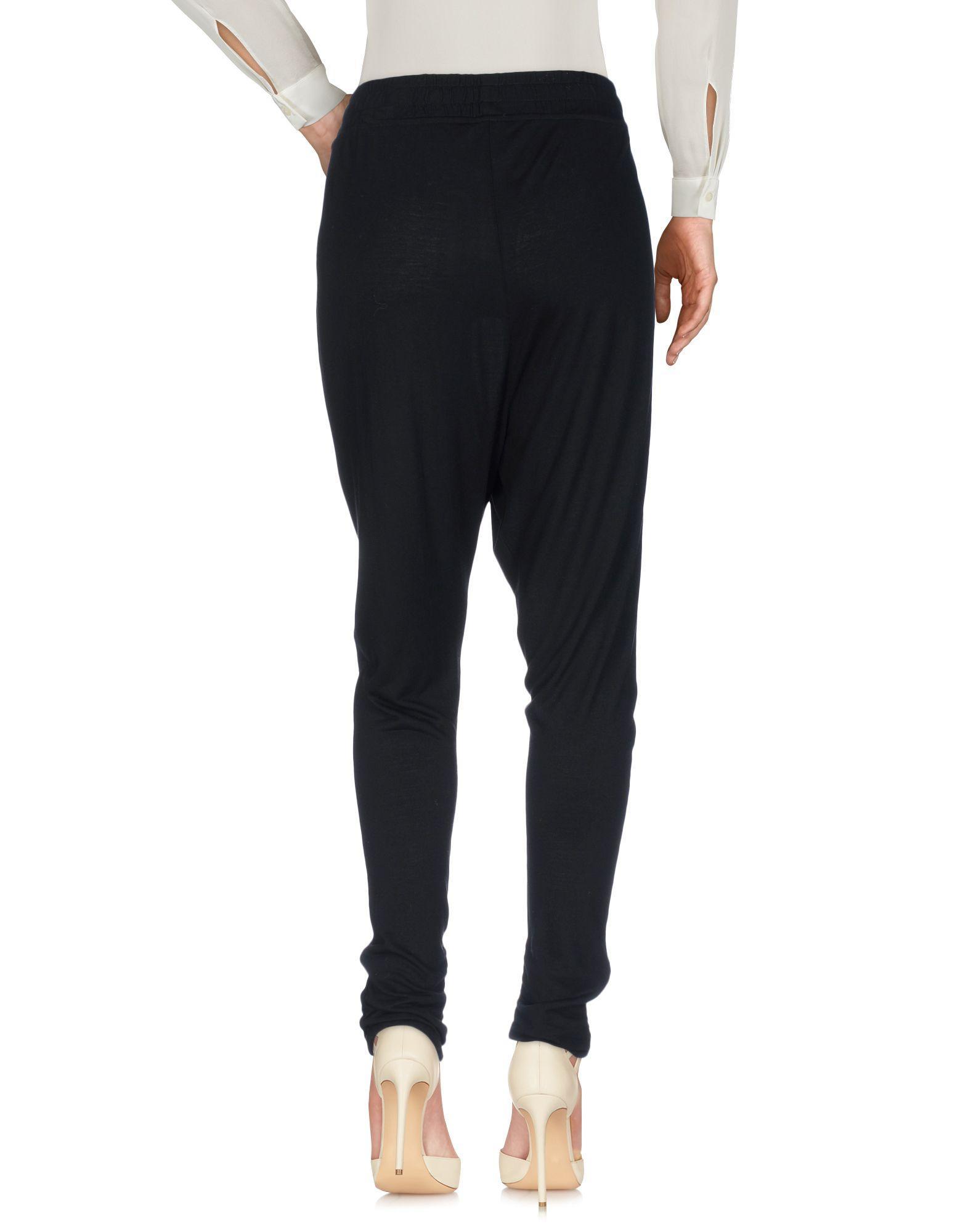 Pantalon Synthétique Franklin & Marshall en coloris Noir