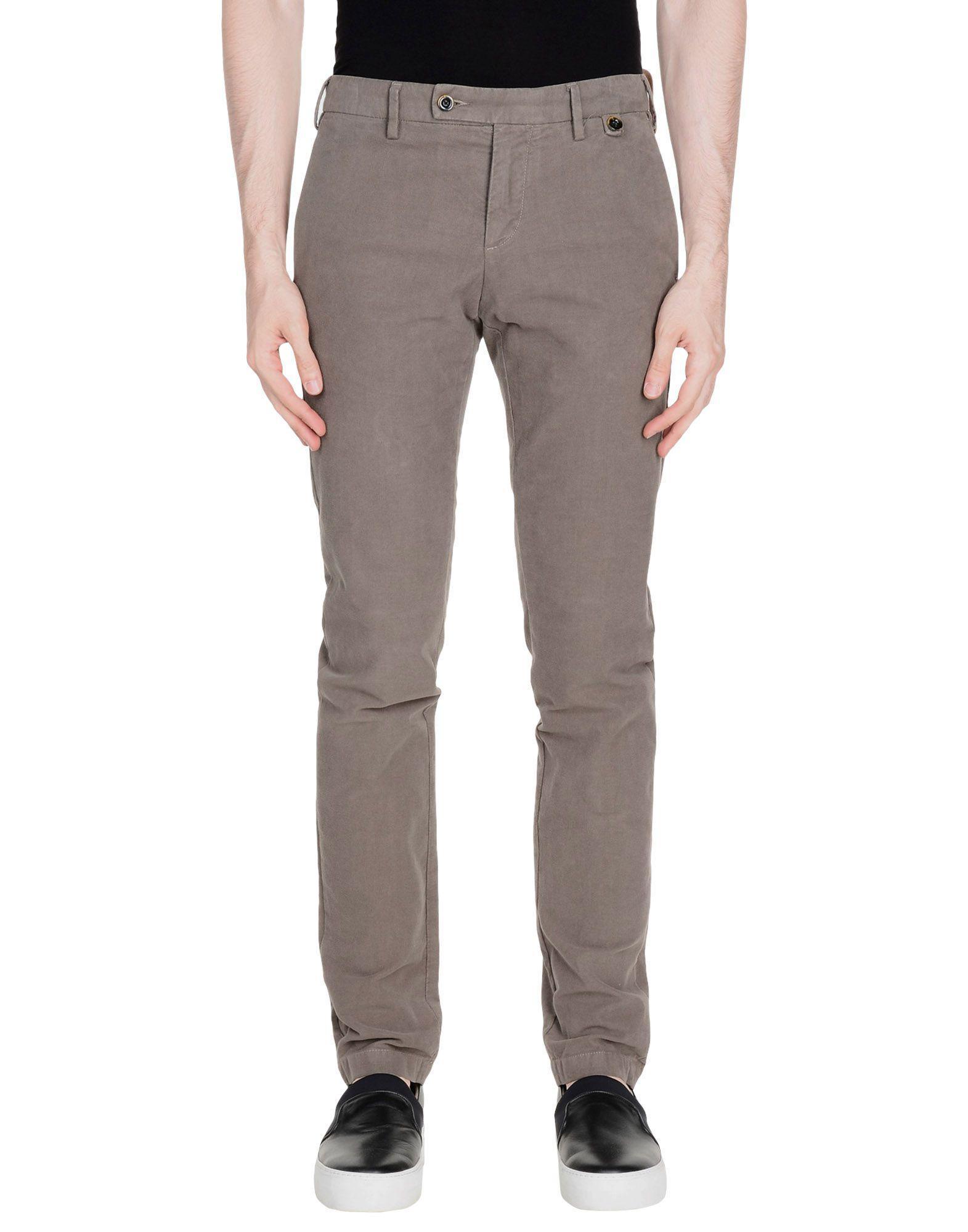 25d8fef096 Lyst - Pantalones AT.P.CO de hombre de color Gris
