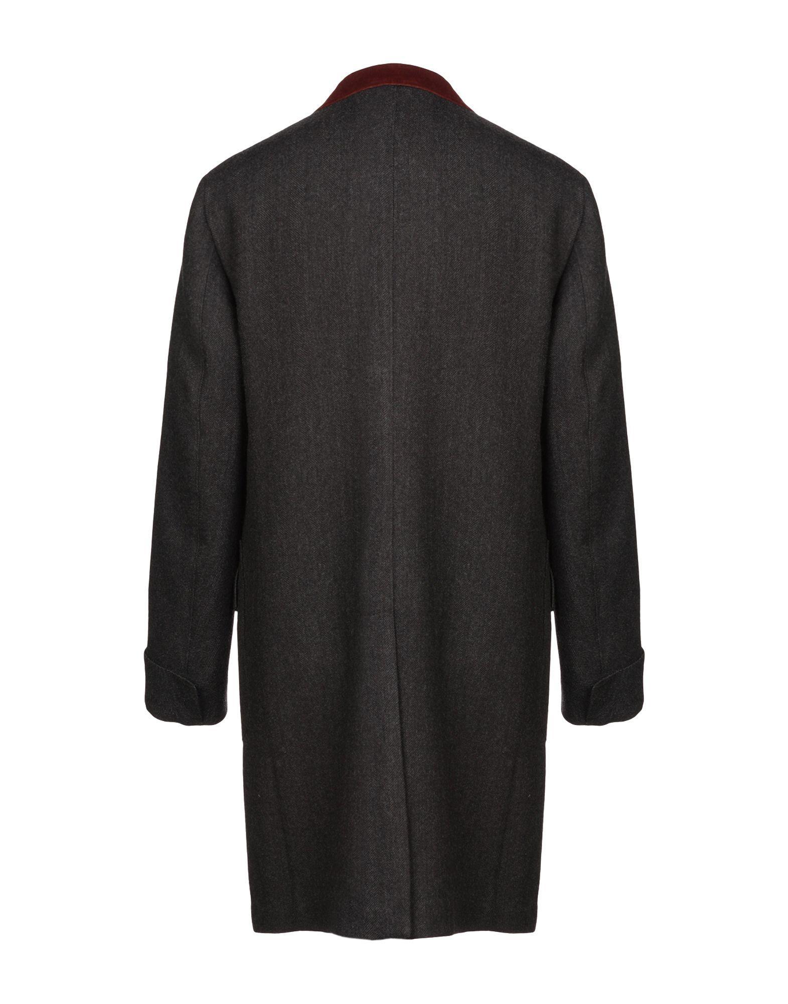 Manteau long Boglioli pour homme en coloris Noir c4IqH