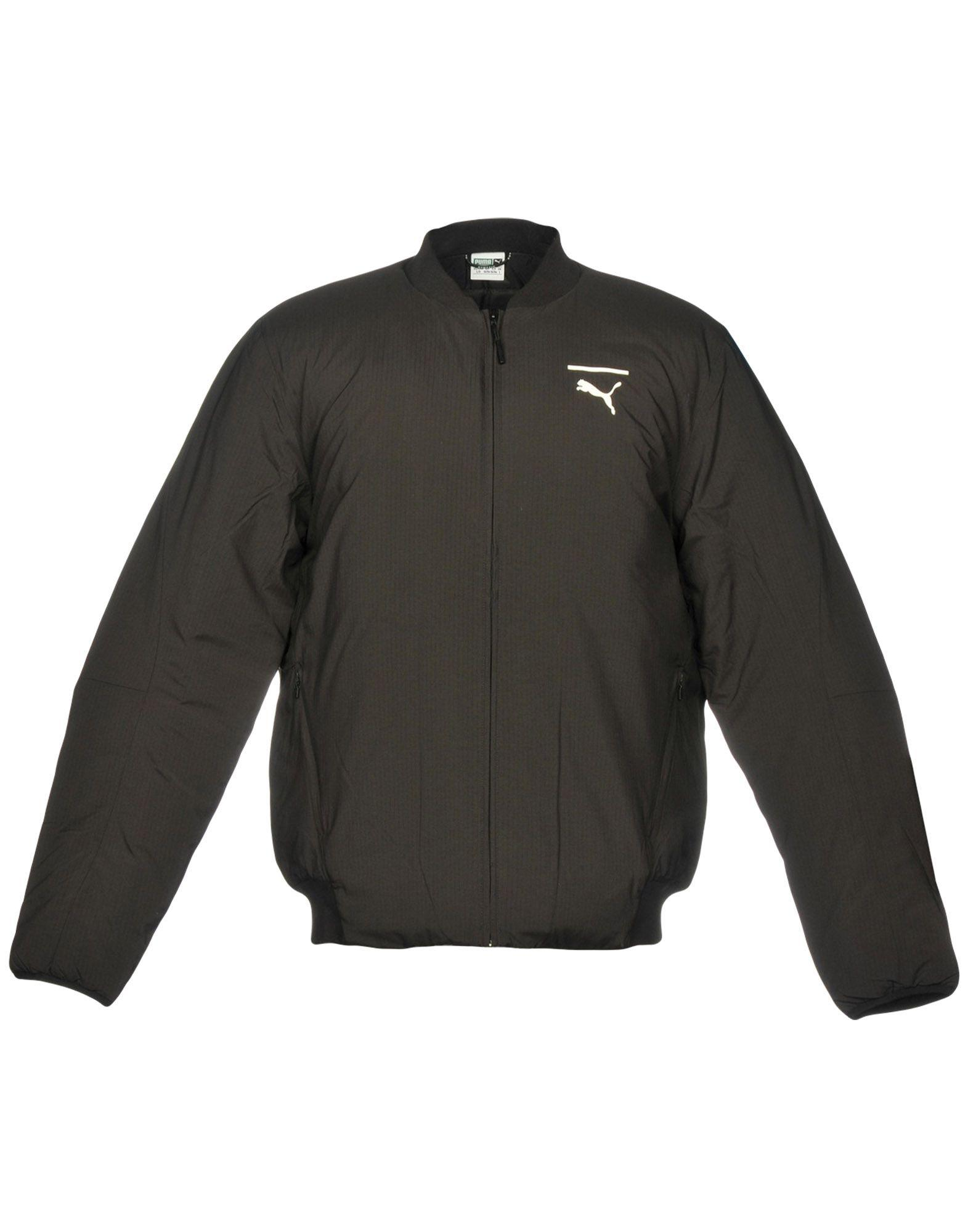 934c1b01fdf6 PUMA Jacket in Black for Men - Lyst