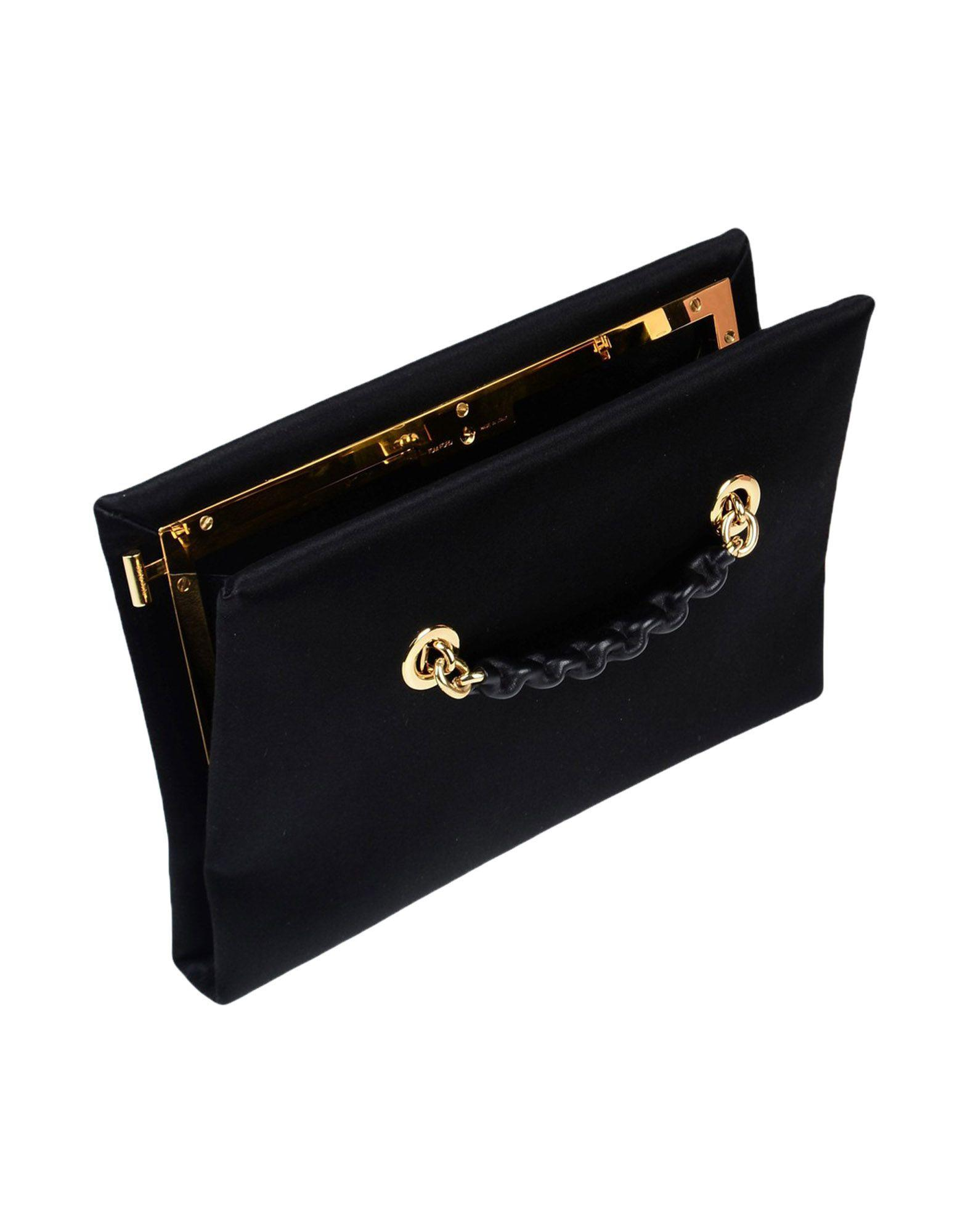 Tom Ford Satin Cross-body Bag in Black