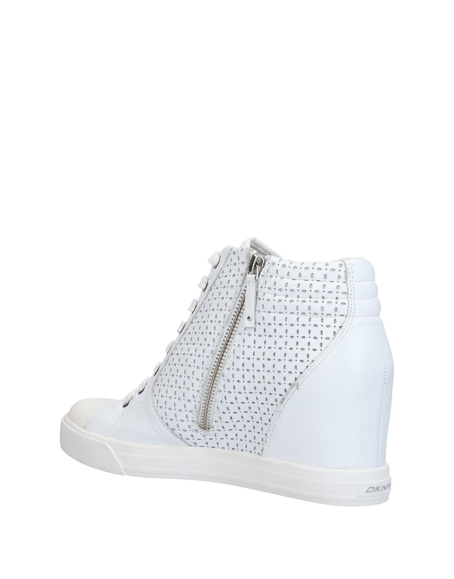 DKNY Rubber High-tops & Sneakers in White