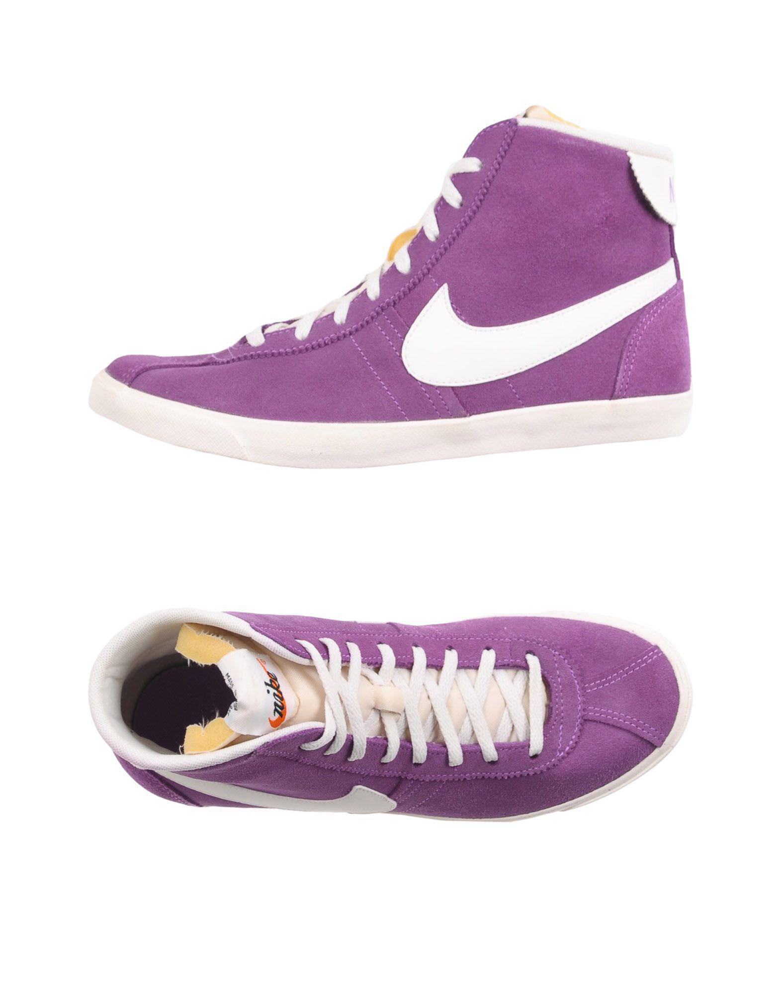 Lyst - Nike High-tops & Sneakers in Purple