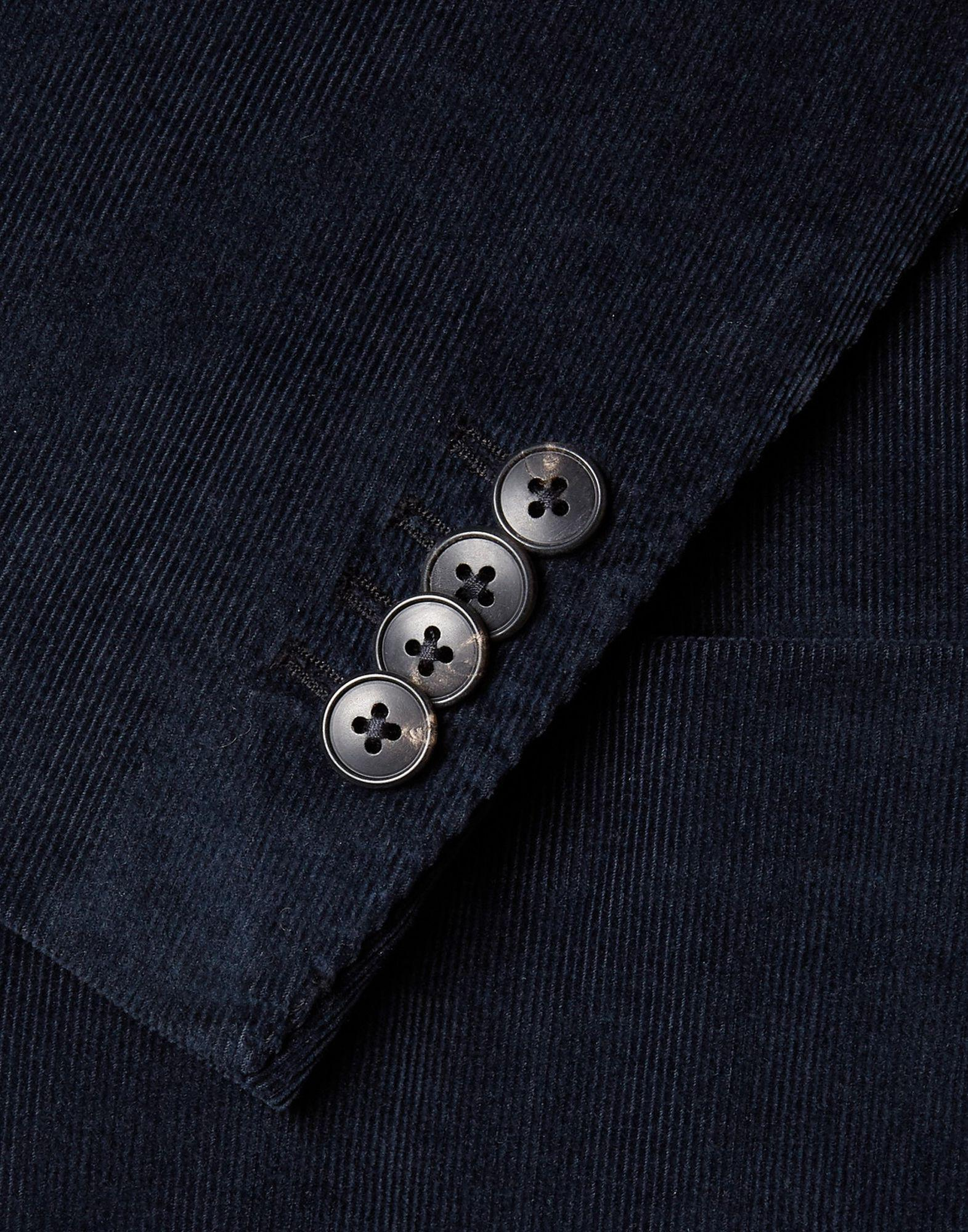 Boglioli Corduroy Blazer in Dark Blue (Blue) for Men