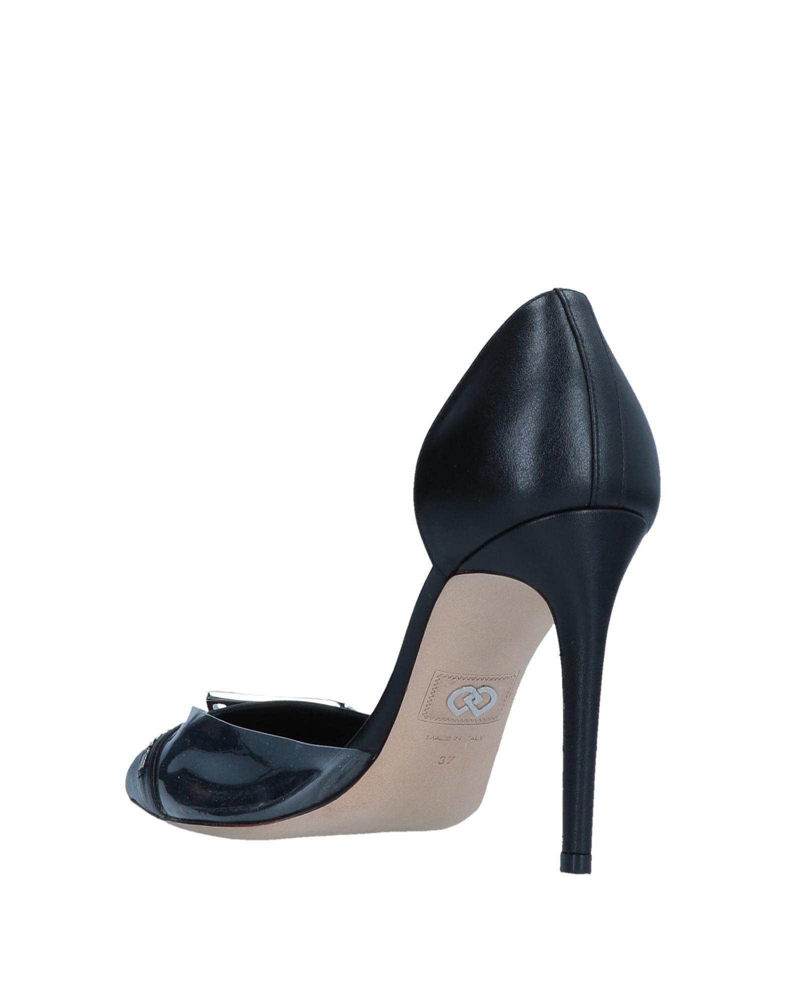 Zapatos de salón DSquared² de Cuero de color Negro