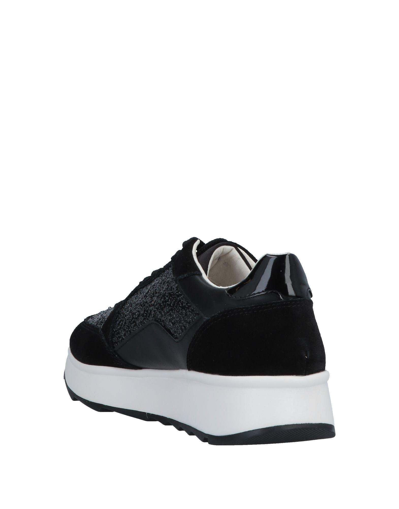 Sneakers & Tennis basses Satin Geox en coloris Noir wQaZ
