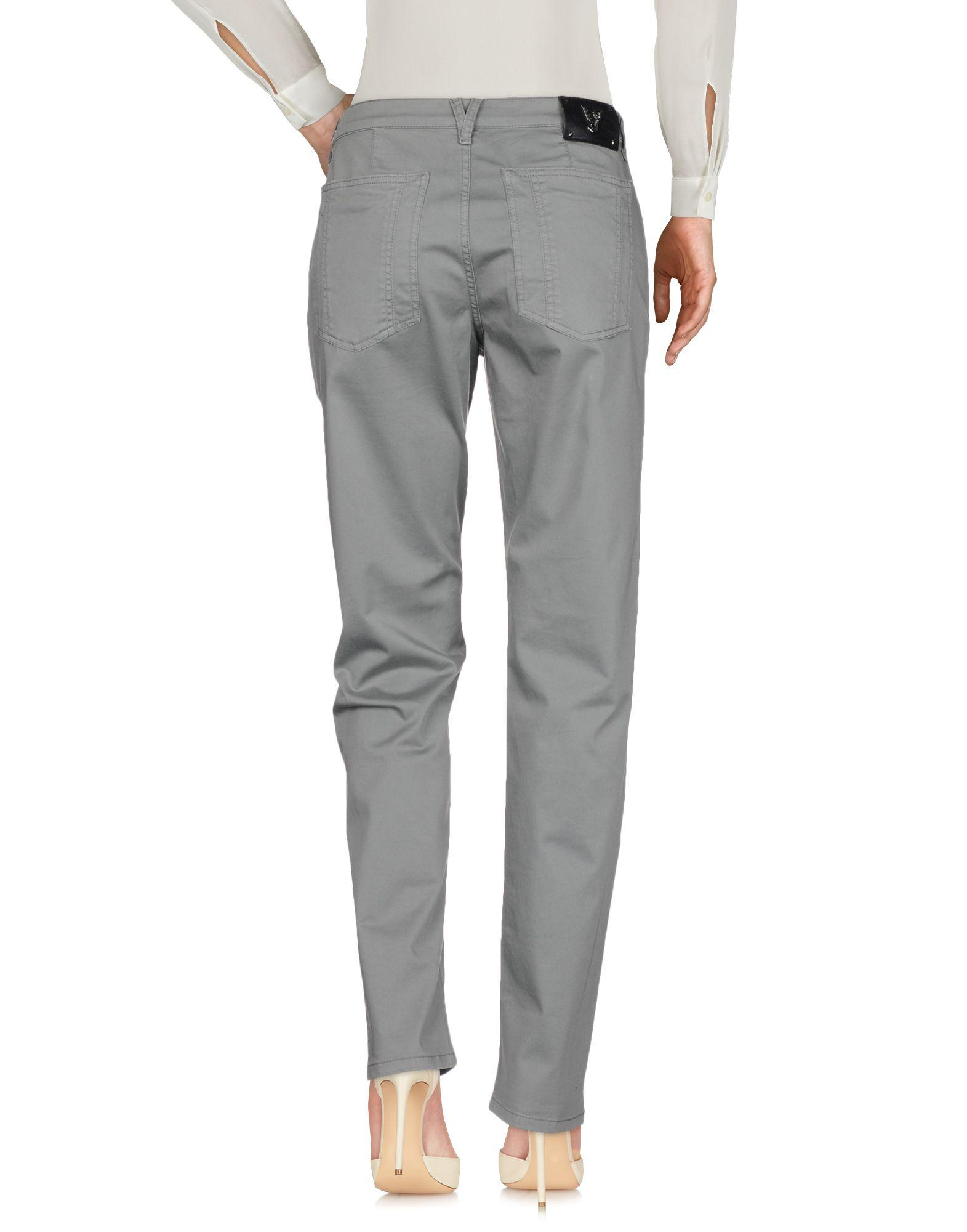Versace Jeans Couture Cotton Casual Trouser in Grey (Grey)