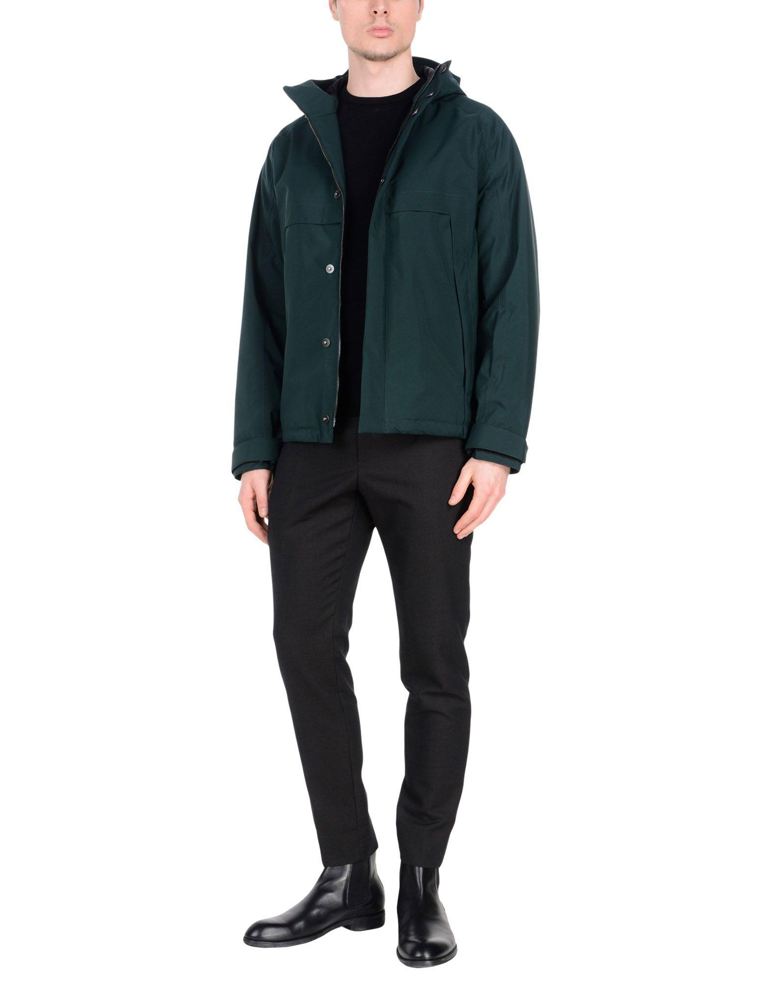 Prada Synthetic Jacket in Green for Men
