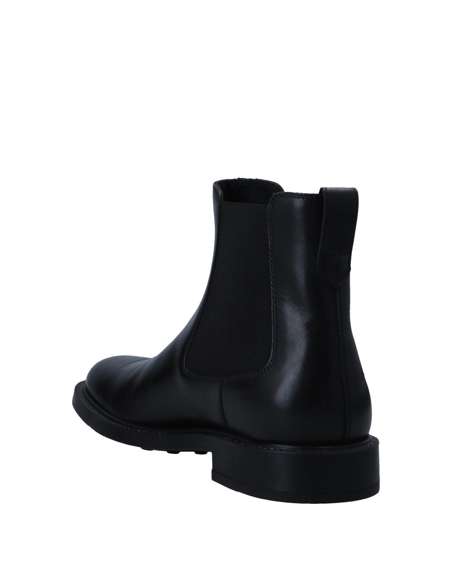 Botines de caña alta Tod's de Cuero de color Negro para hombre