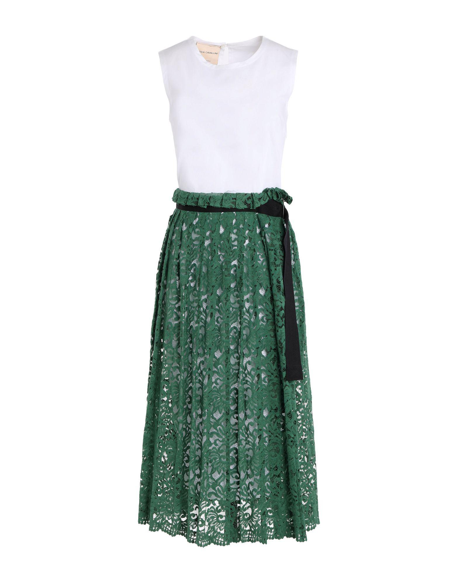 DRESSES - Knee-length dresses Erika Cavallini Semi Couture iTlbM