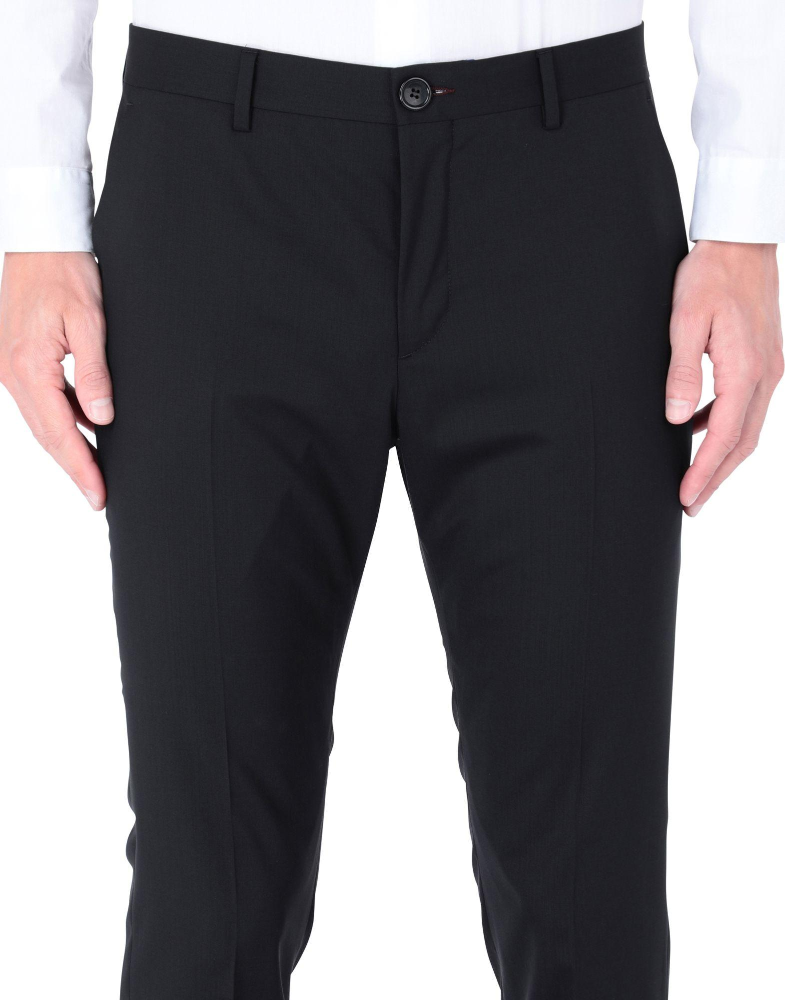 PS by Paul Smith Wool Suit in Black for Men