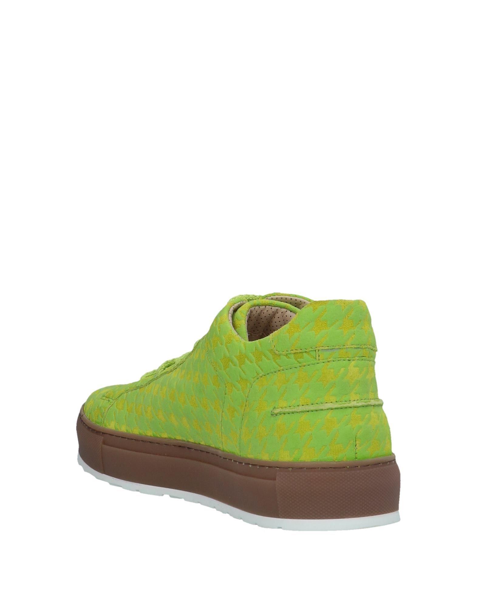 A.Testoni Low Sneakers & Tennisschuhe in Grün für Herren yGO3n