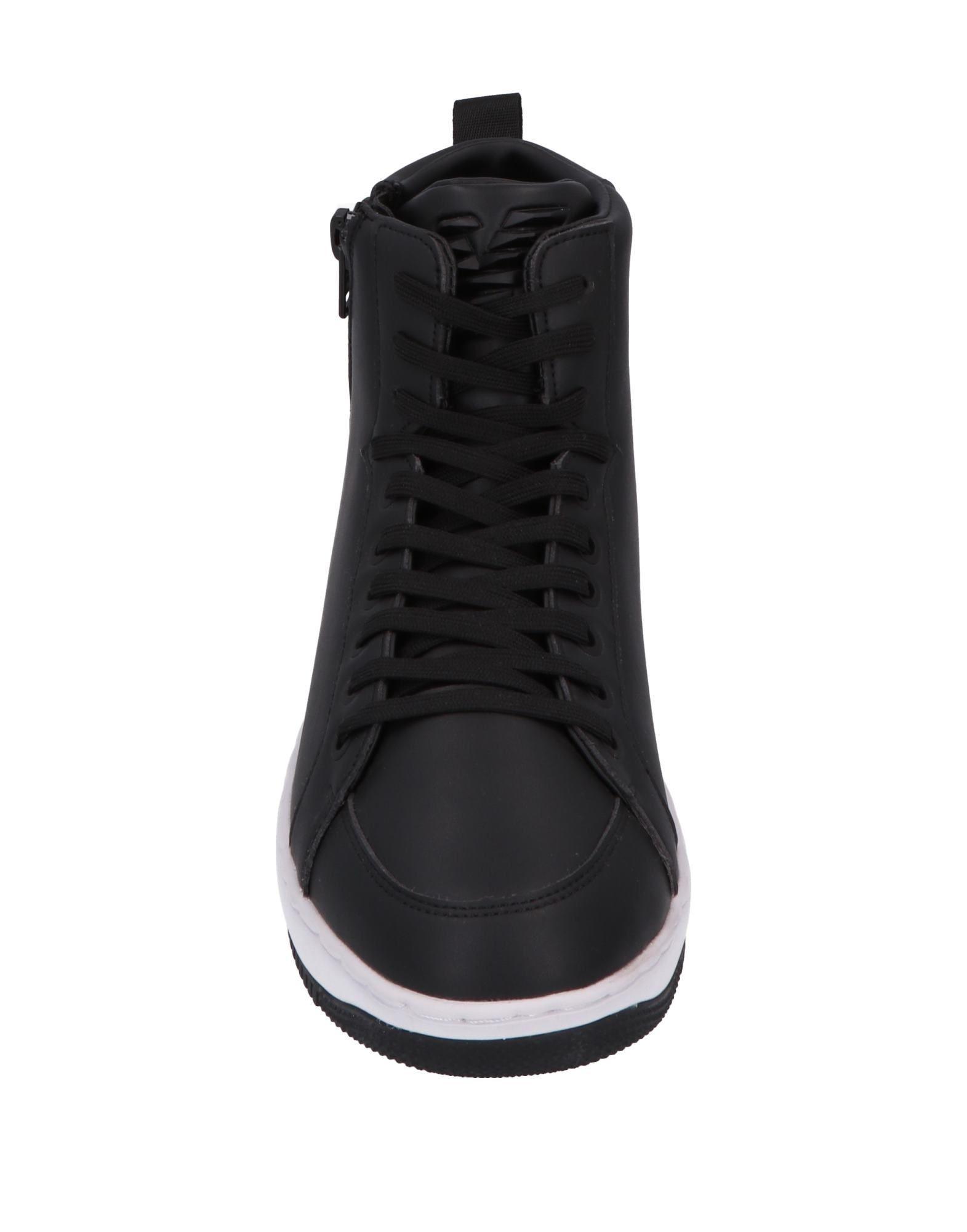 Sneakers abotinadas EA7 de color Negro