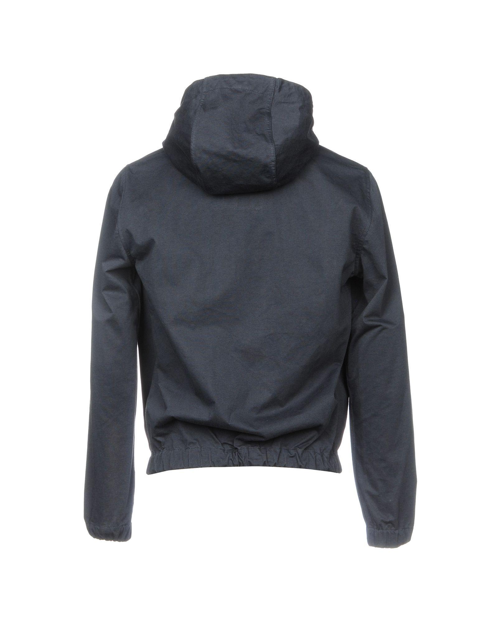 Temporary K Cotton Jackets in Dark Blue (Blue) for Men