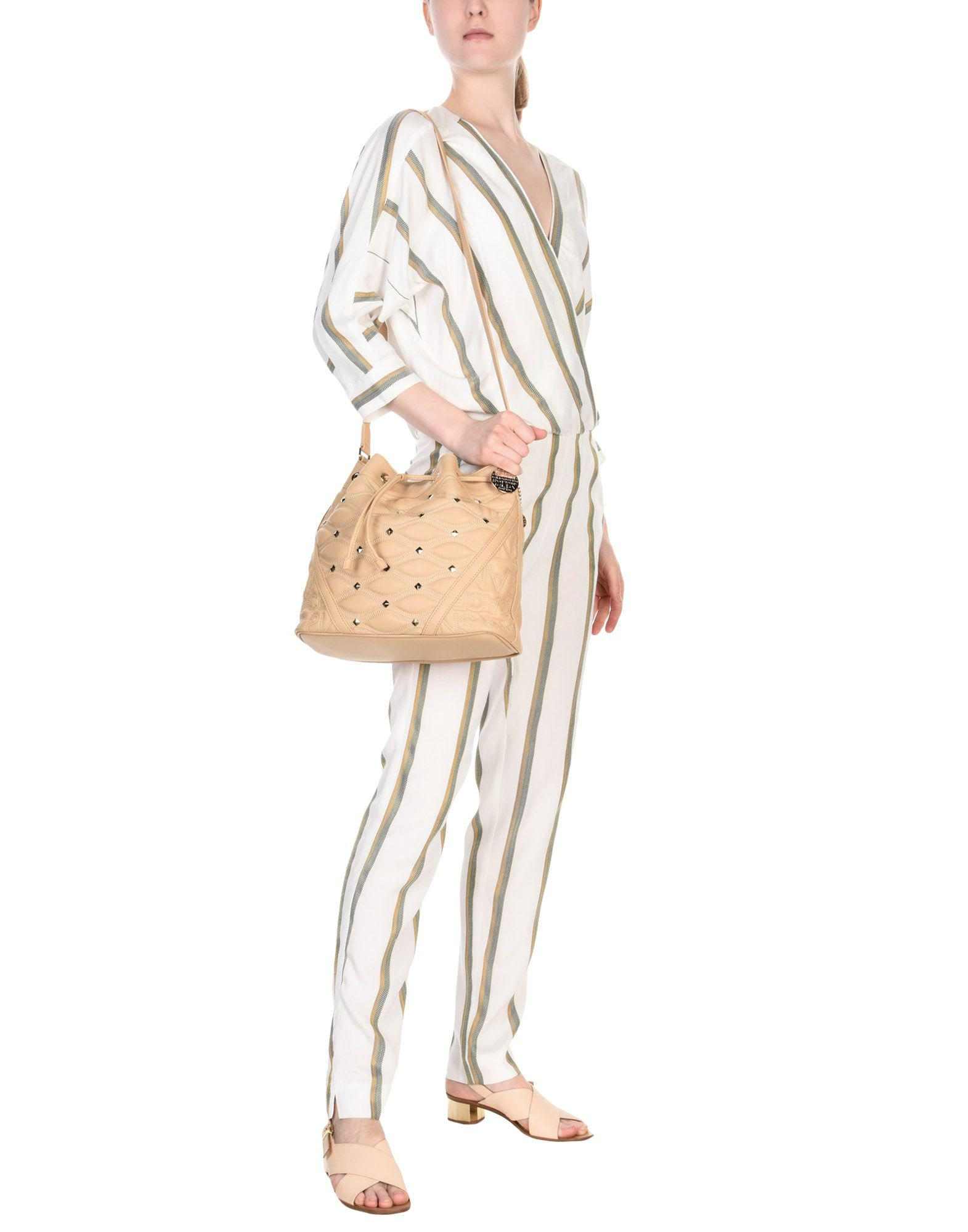 Versace Jeans Couture Cross-body Bag in Beige (Natural)