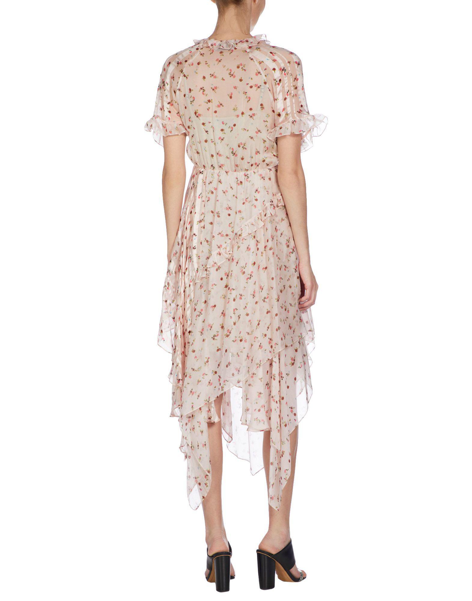 By Lyst Bregazzi Pink Thornton Length Preen Dress 34 In 7qwqBfpS