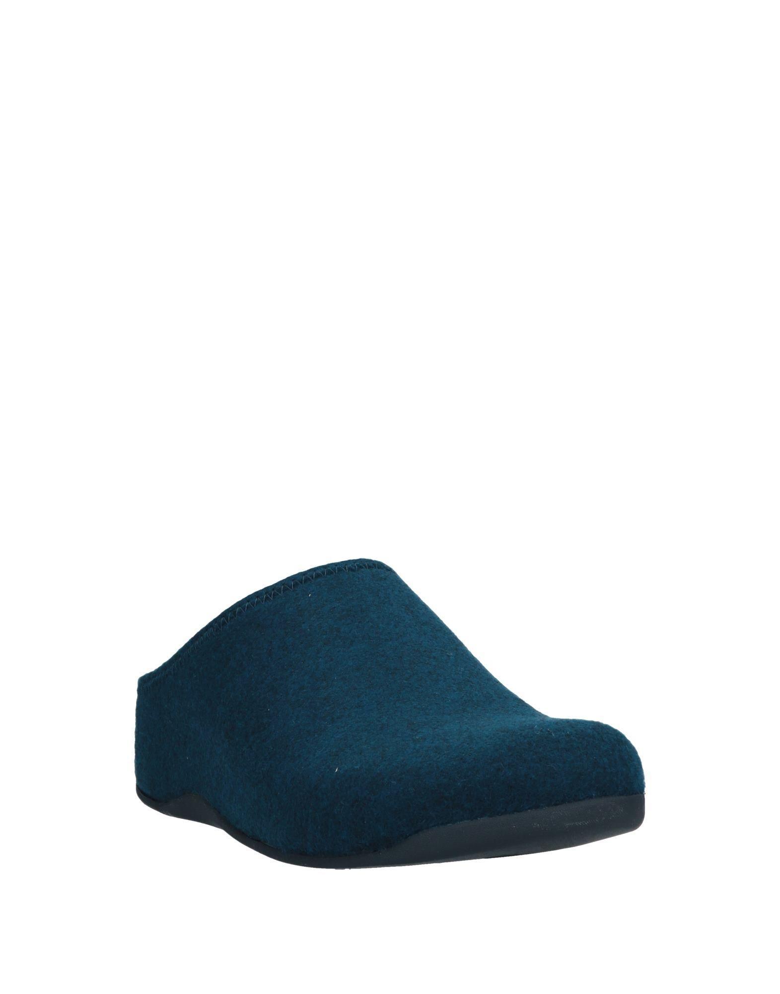 Mules & Sabots Laines Fitflop pour homme en coloris Bleu