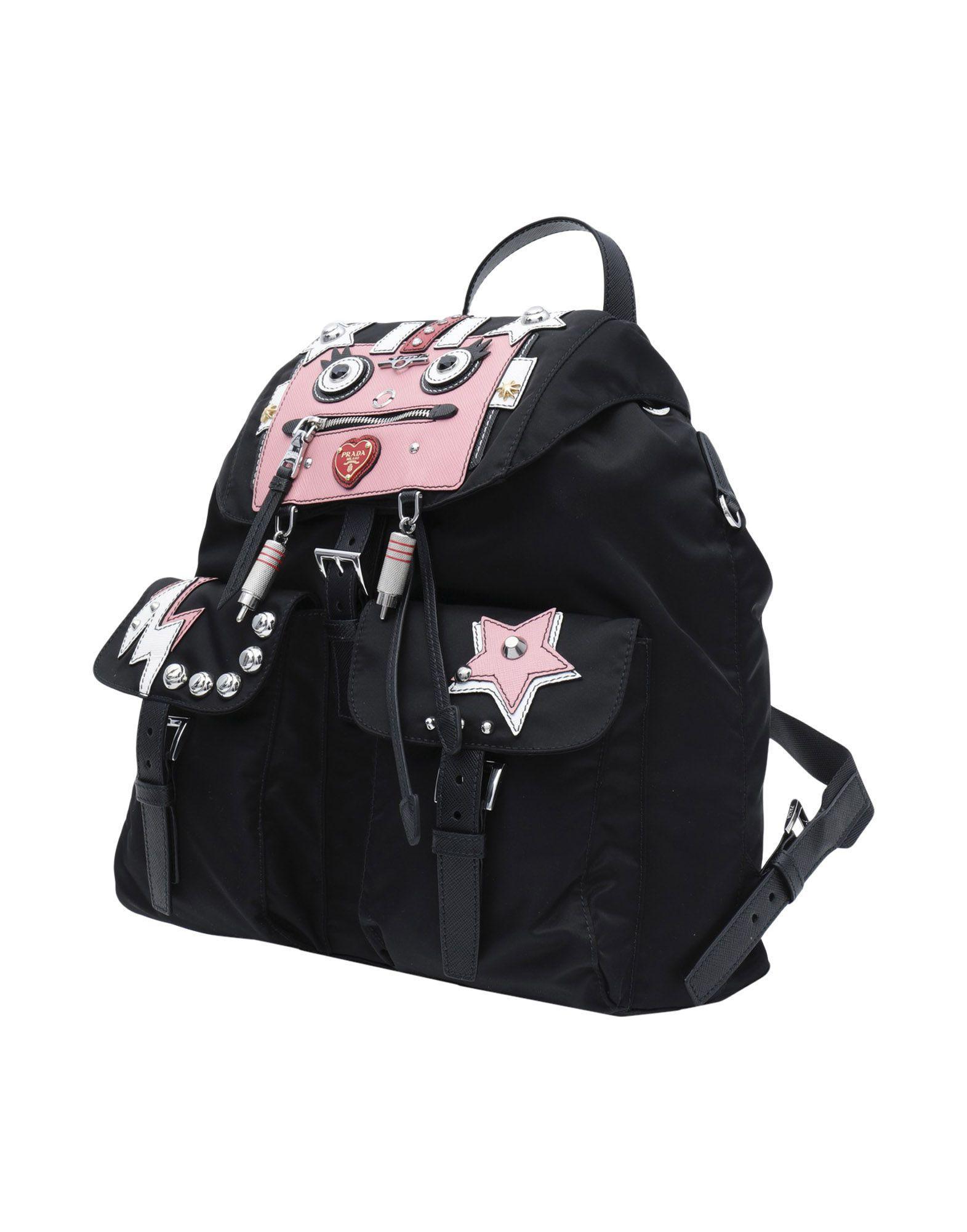 2e6b42f98d5c Prada - Black Backpacks   Bum Bags - Lyst. View fullscreen