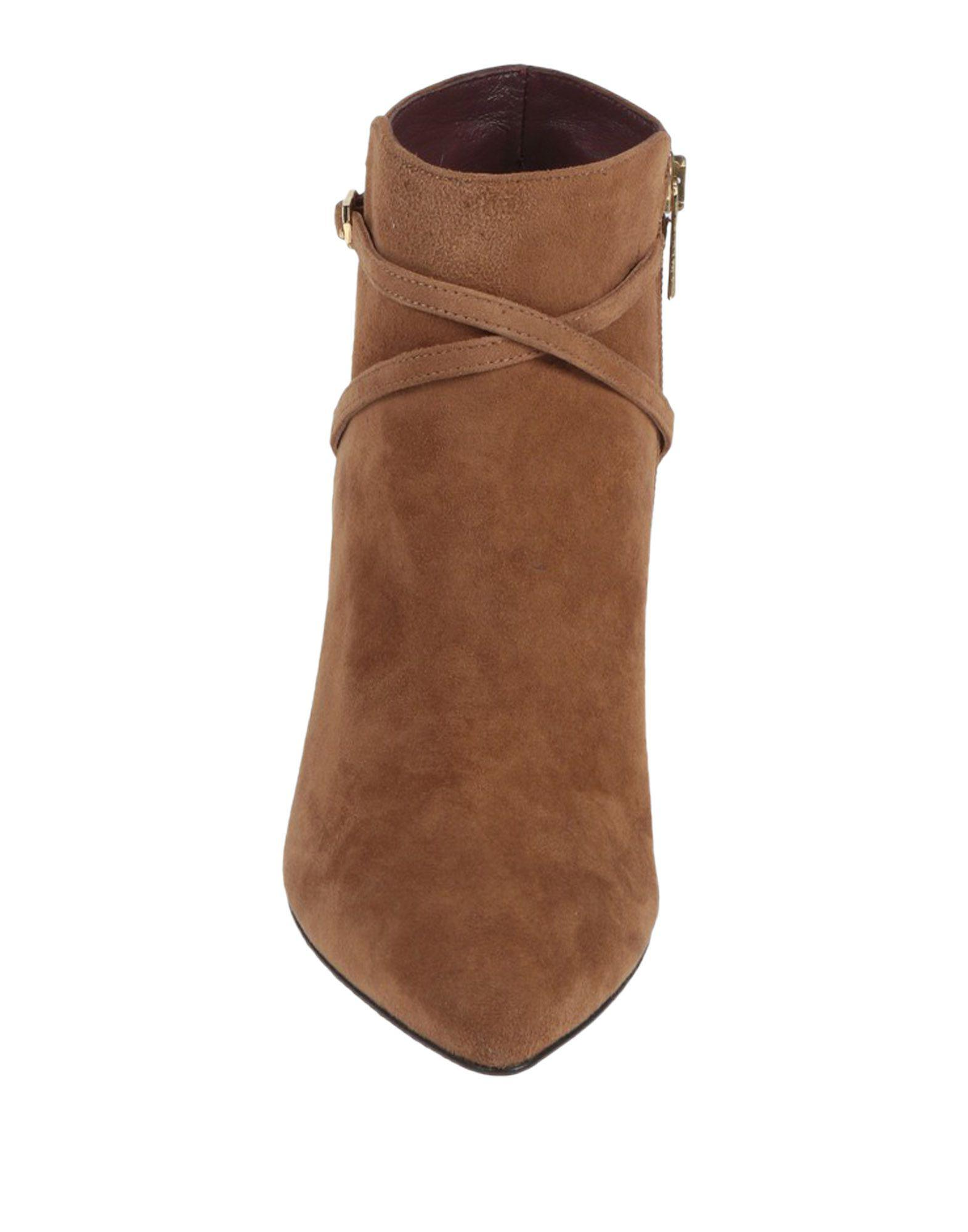 Avril Gau Ankle Boots in Camel (Brown)