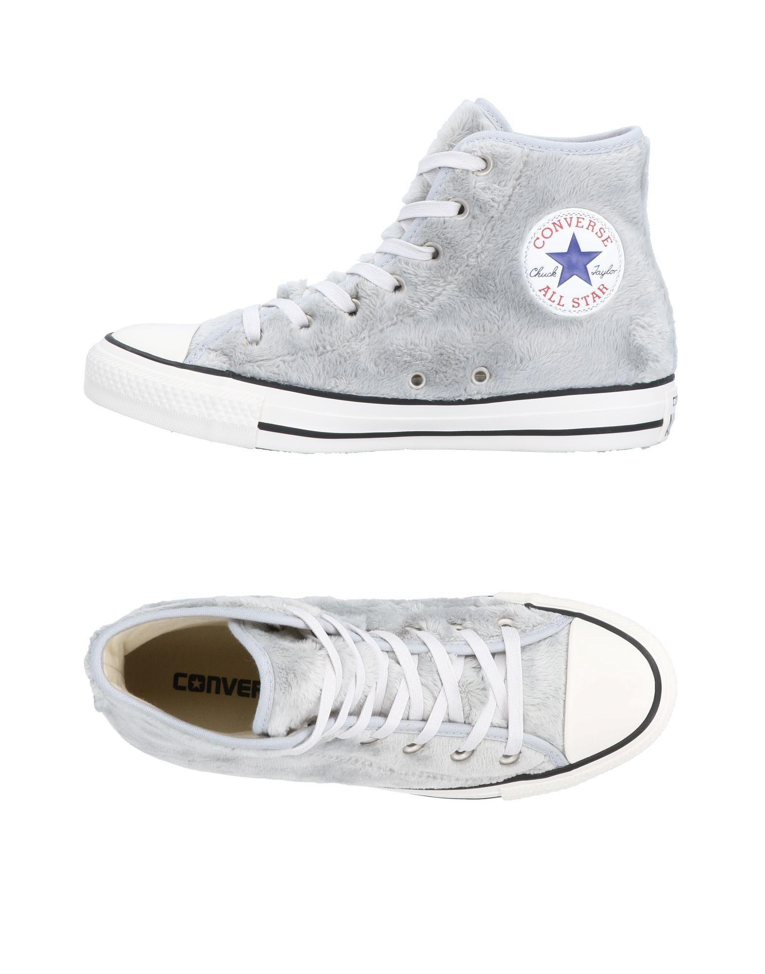 3cfe8f21a07183 Lyst - Converse High-tops   Sneakers in Gray