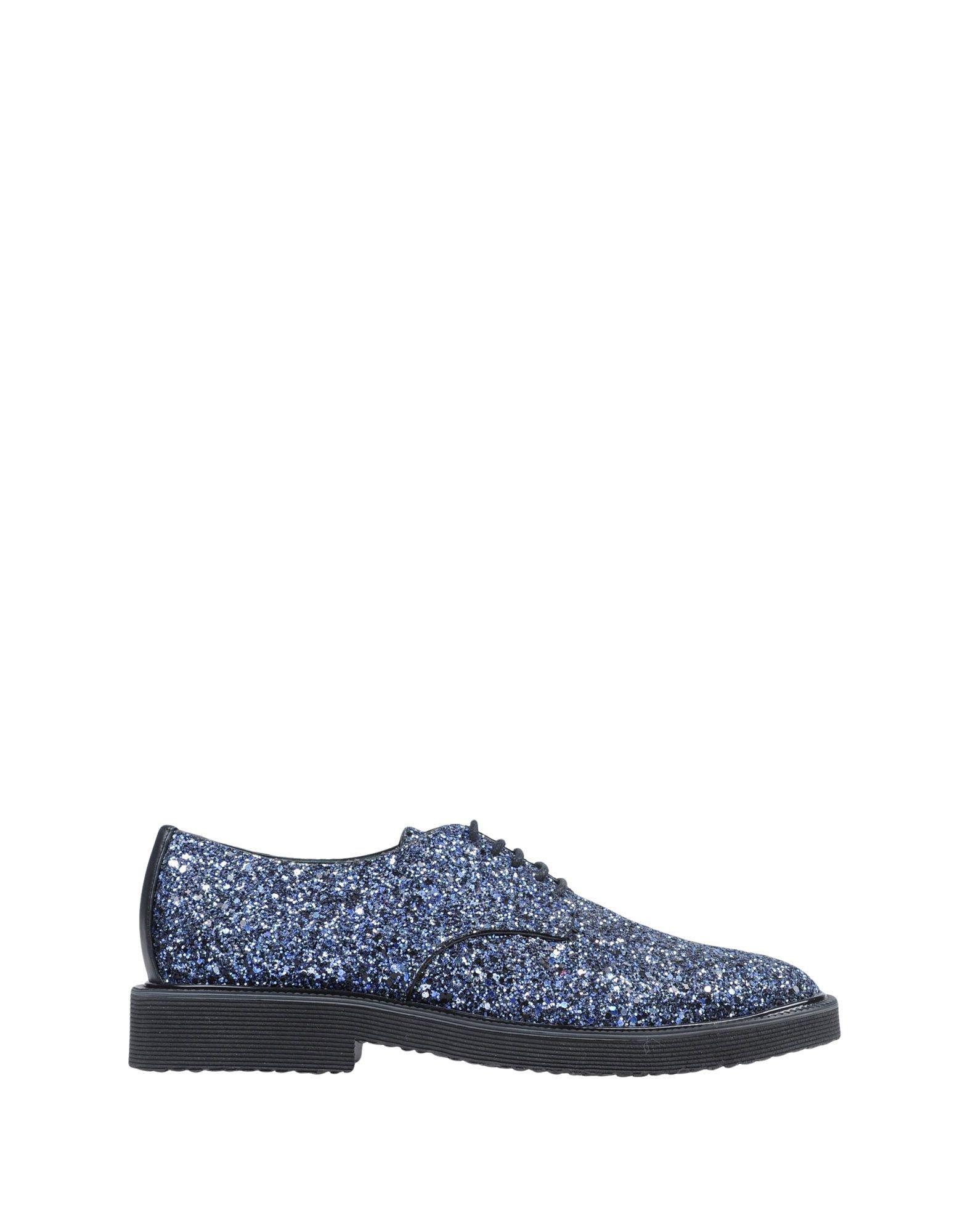 Giuseppe Zanotti Leather Lace-up Shoe in Dark Purple (Purple) for Men