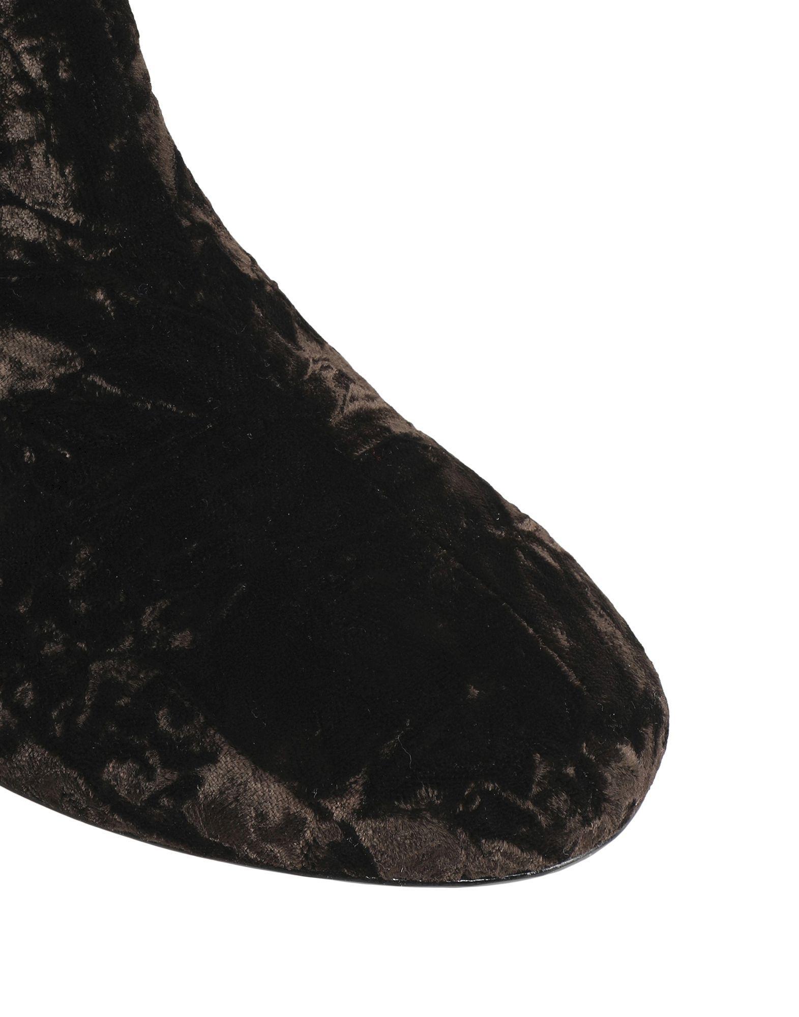 Botines de caña alta Isa Tapia de color Negro