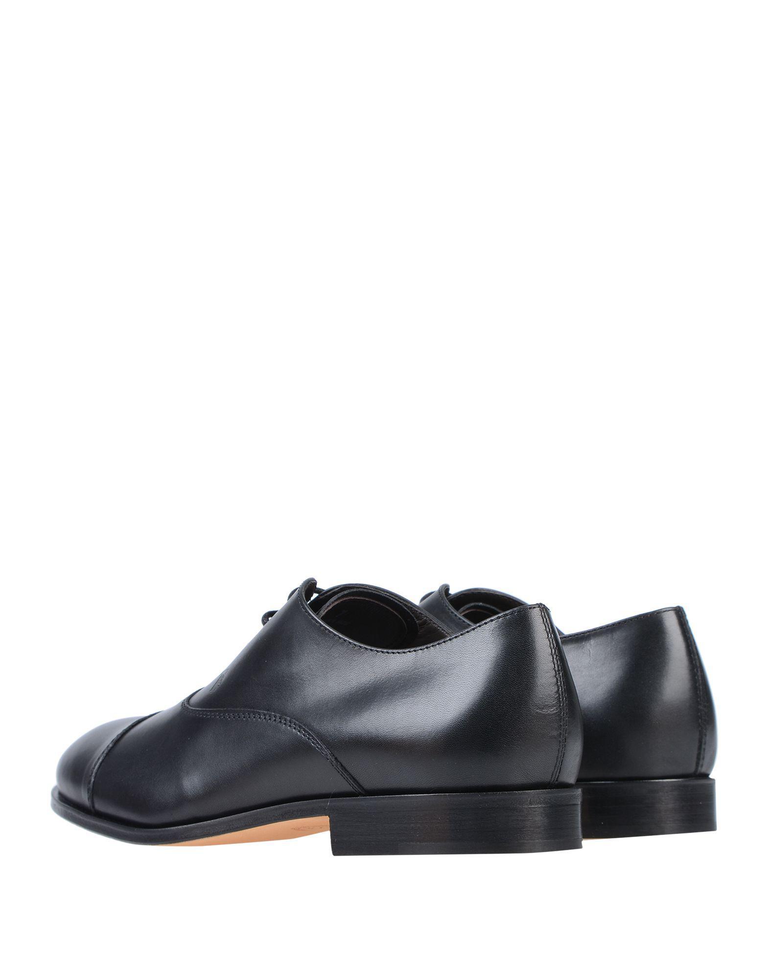 Zapatos de cordones Tod's de Cuero de color Negro para hombre