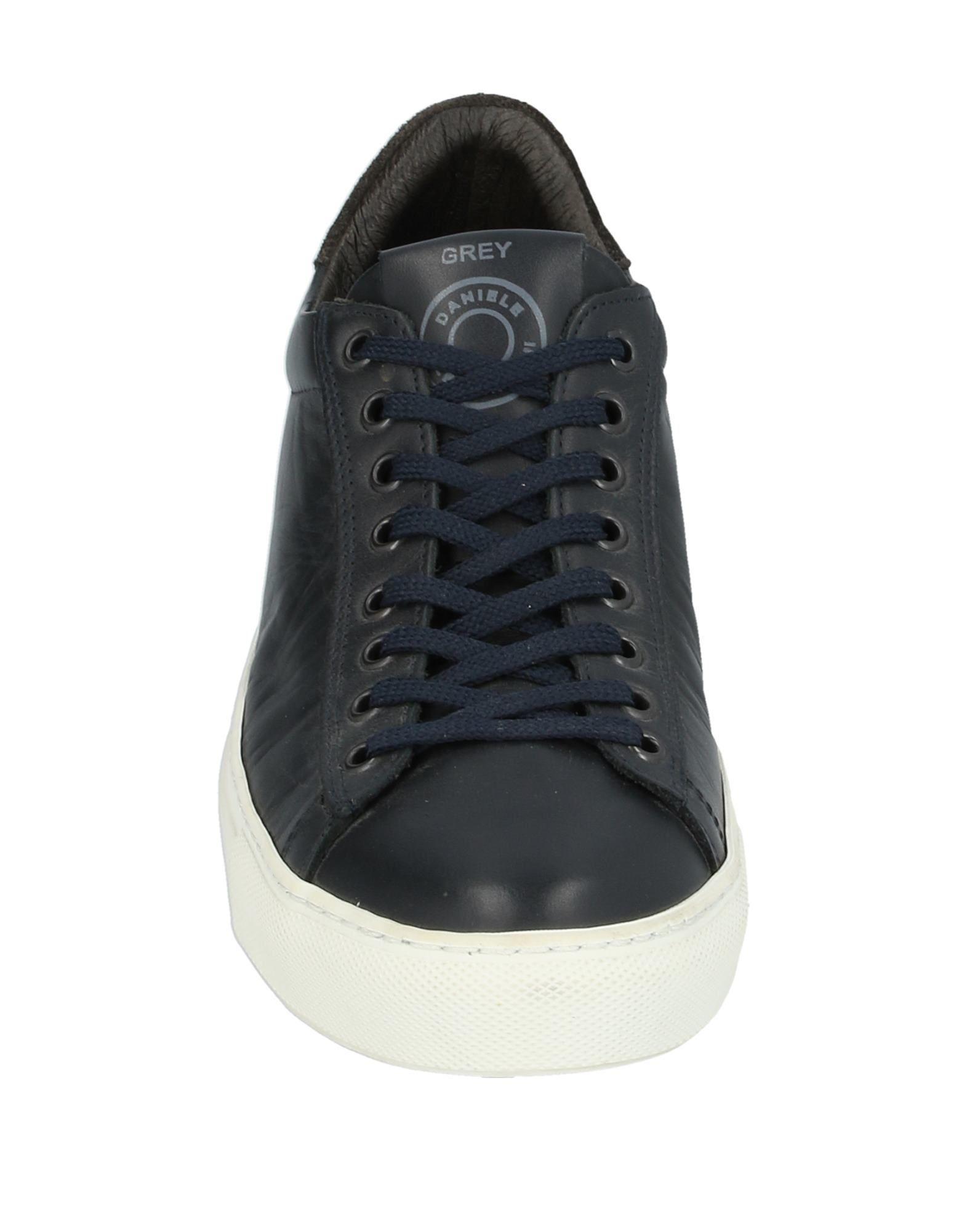 Sneakers & Deportivas Grey Daniele Alessandrini de Ante de color Azul para hombre